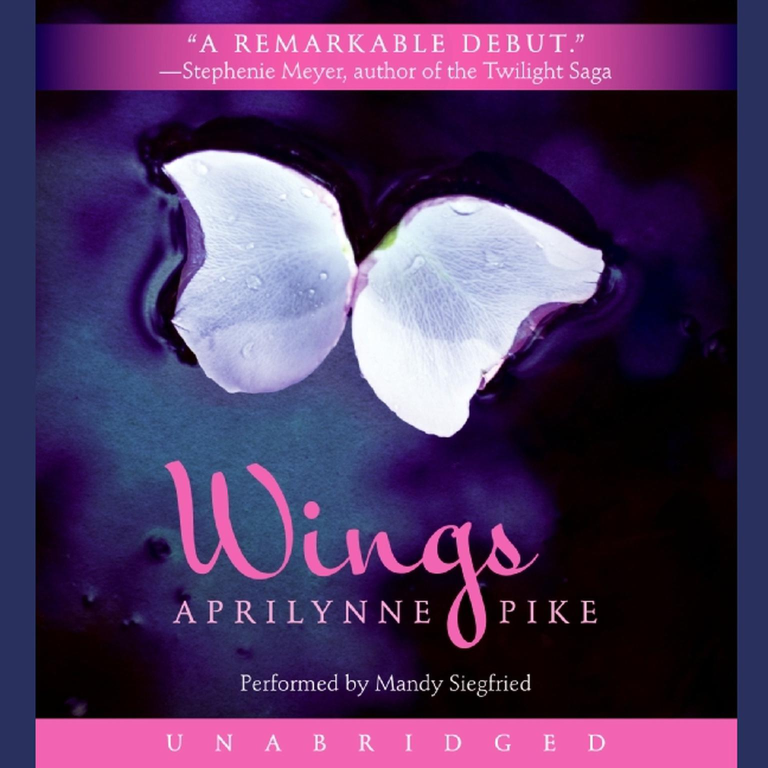 Printable Wings Audiobook Cover Art