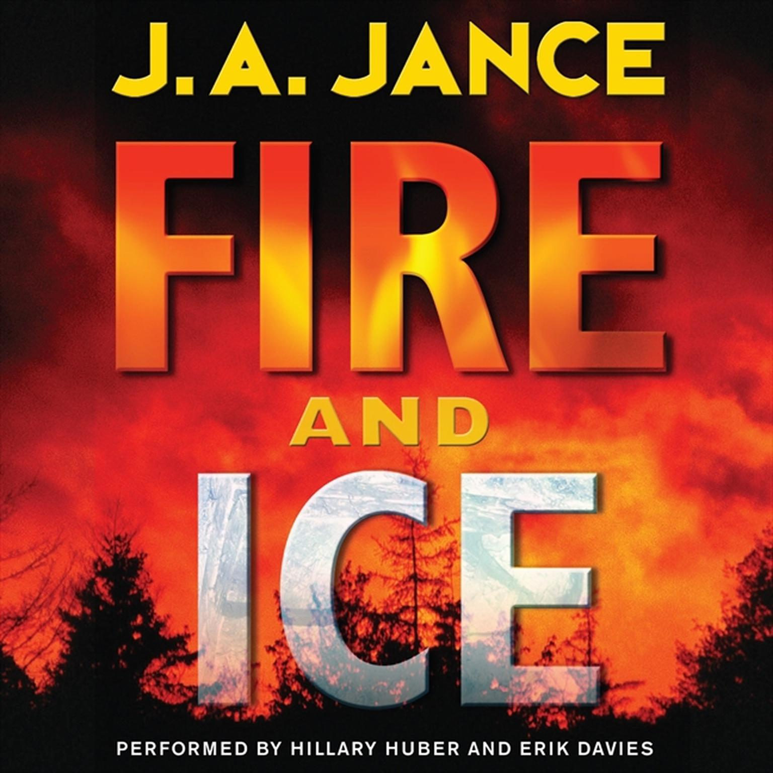 Printable Fire and Ice: A Beaumont and Brady Novel Audiobook Cover Art