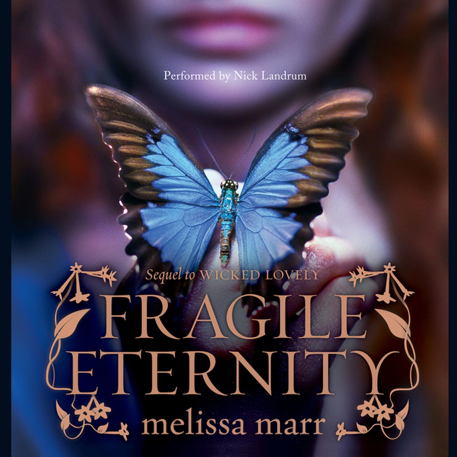 Printable Fragile Eternity Audiobook Cover Art