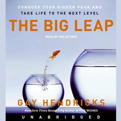 The Big Leap: Conquer Your Hidden Fear and Take Life to the Next Level Audiobook, by Gay Hendricks, Gay Hendricks
