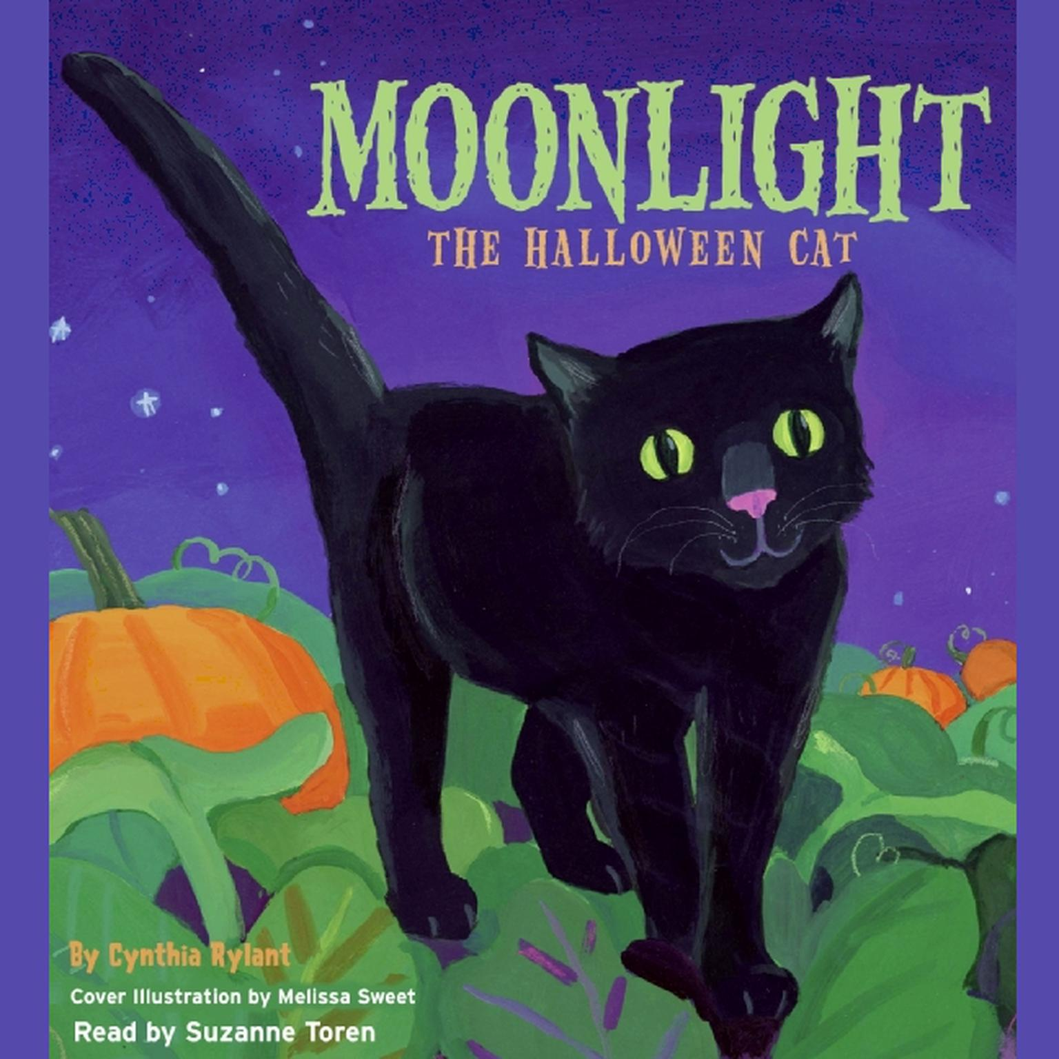 Printable Moonlight: The Halloween Cat Audiobook Cover Art