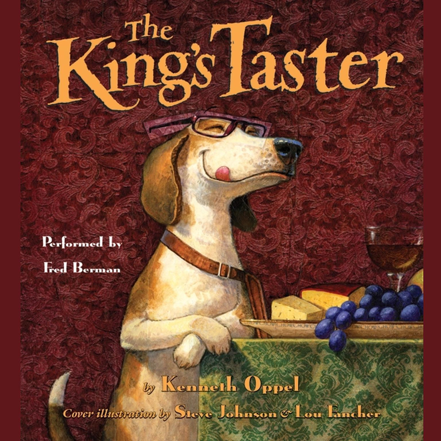 Printable The King's Taster Audiobook Cover Art