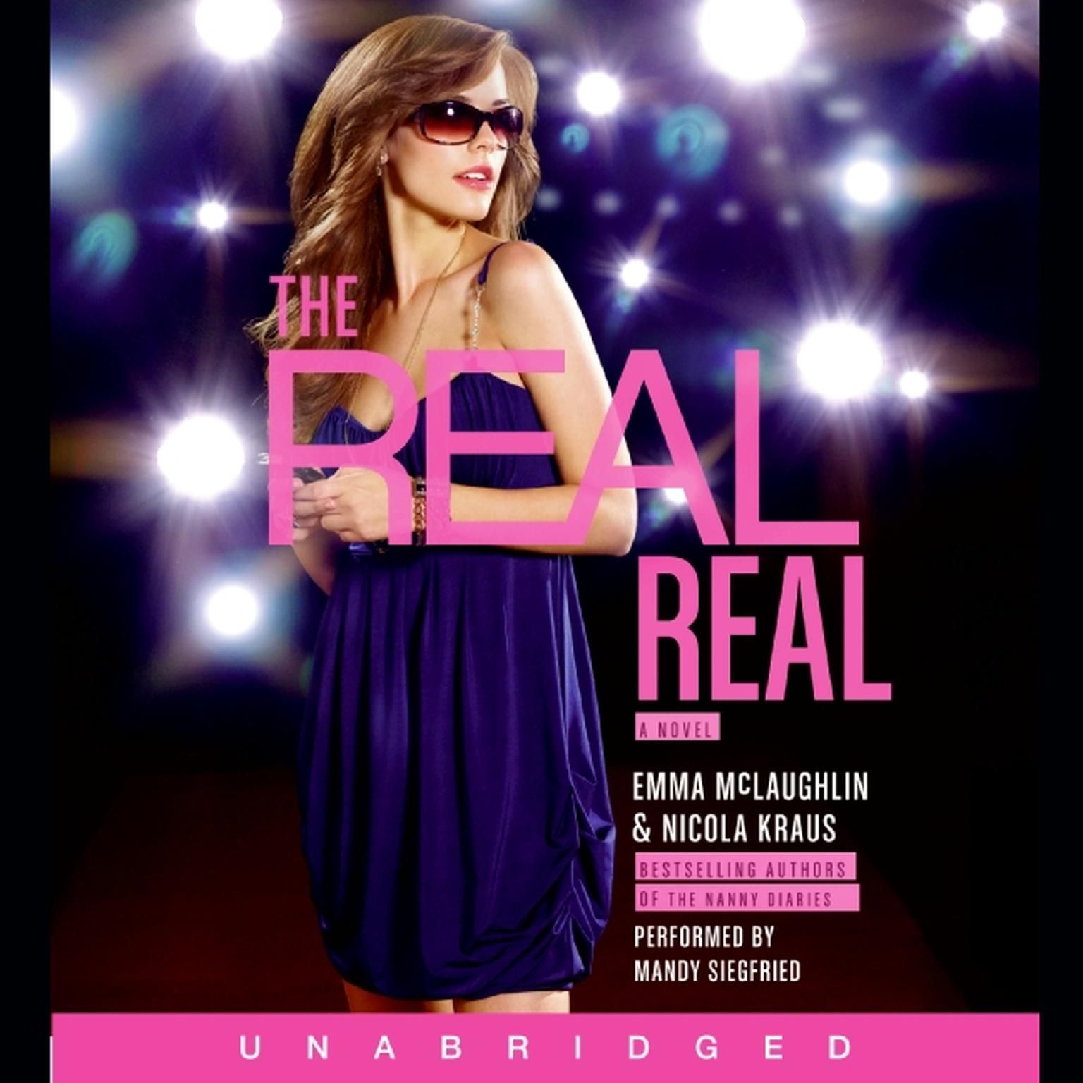 Printable The Real Real: A Novel Audiobook Cover Art