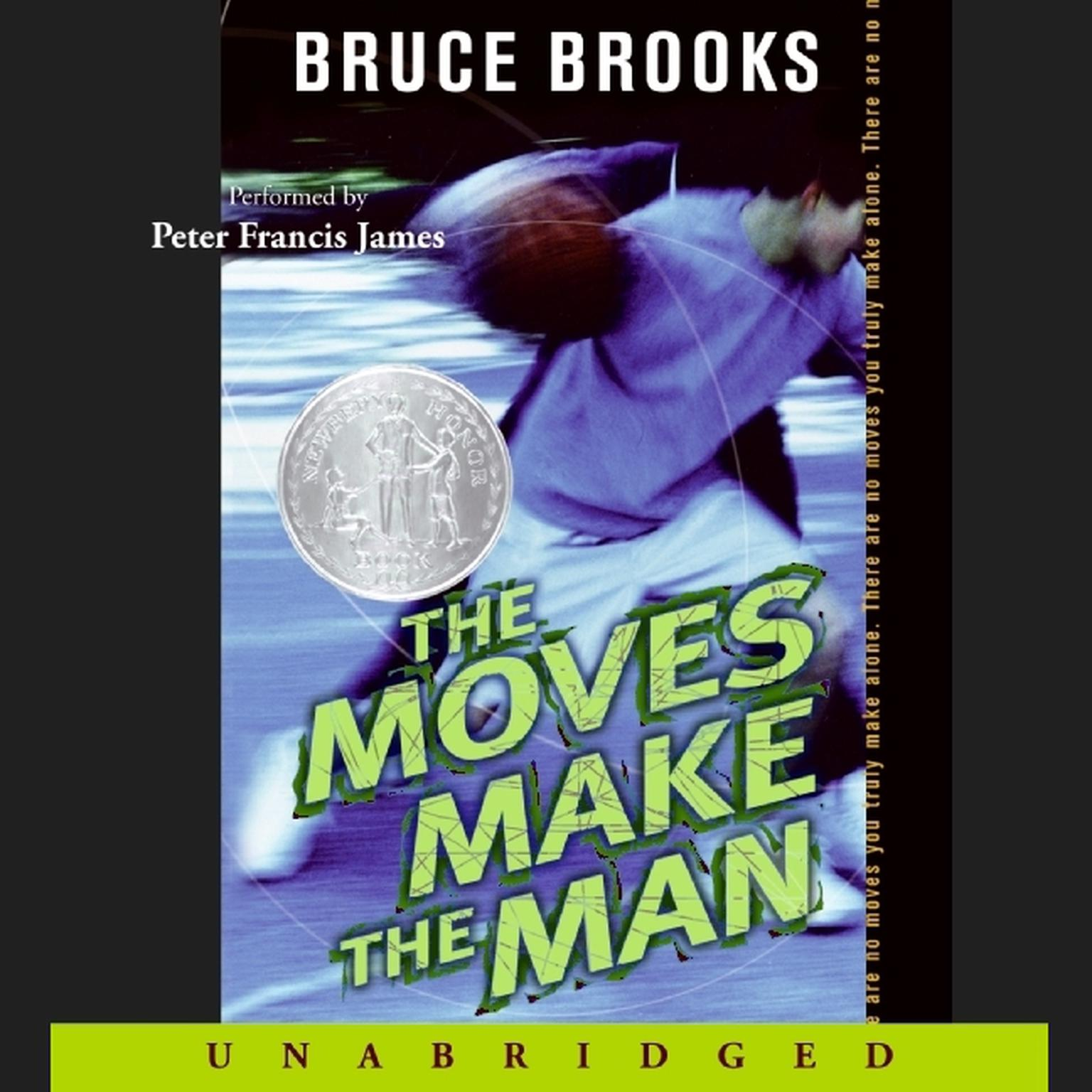Printable The Moves Make the Man Audiobook Cover Art
