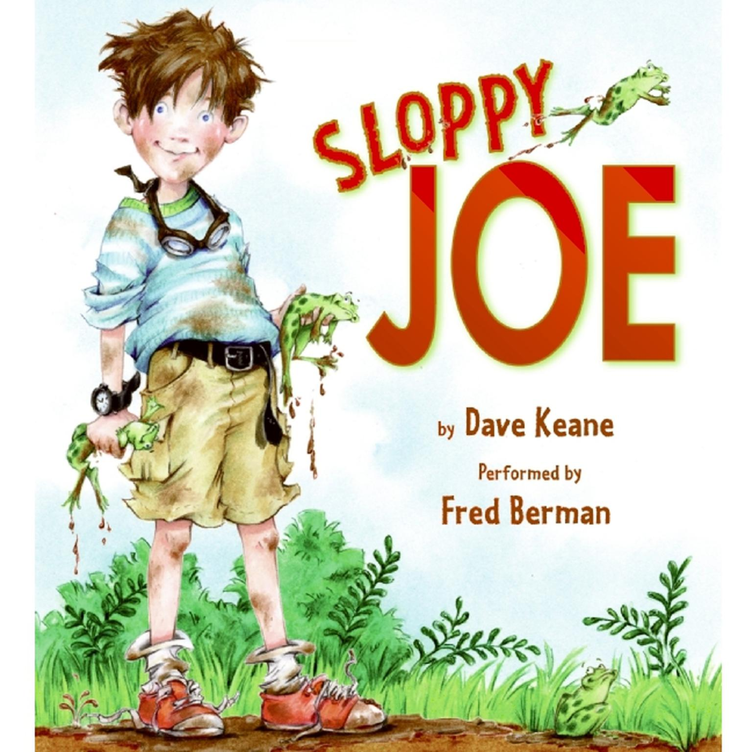 Printable Sloppy Joe Audiobook Cover Art