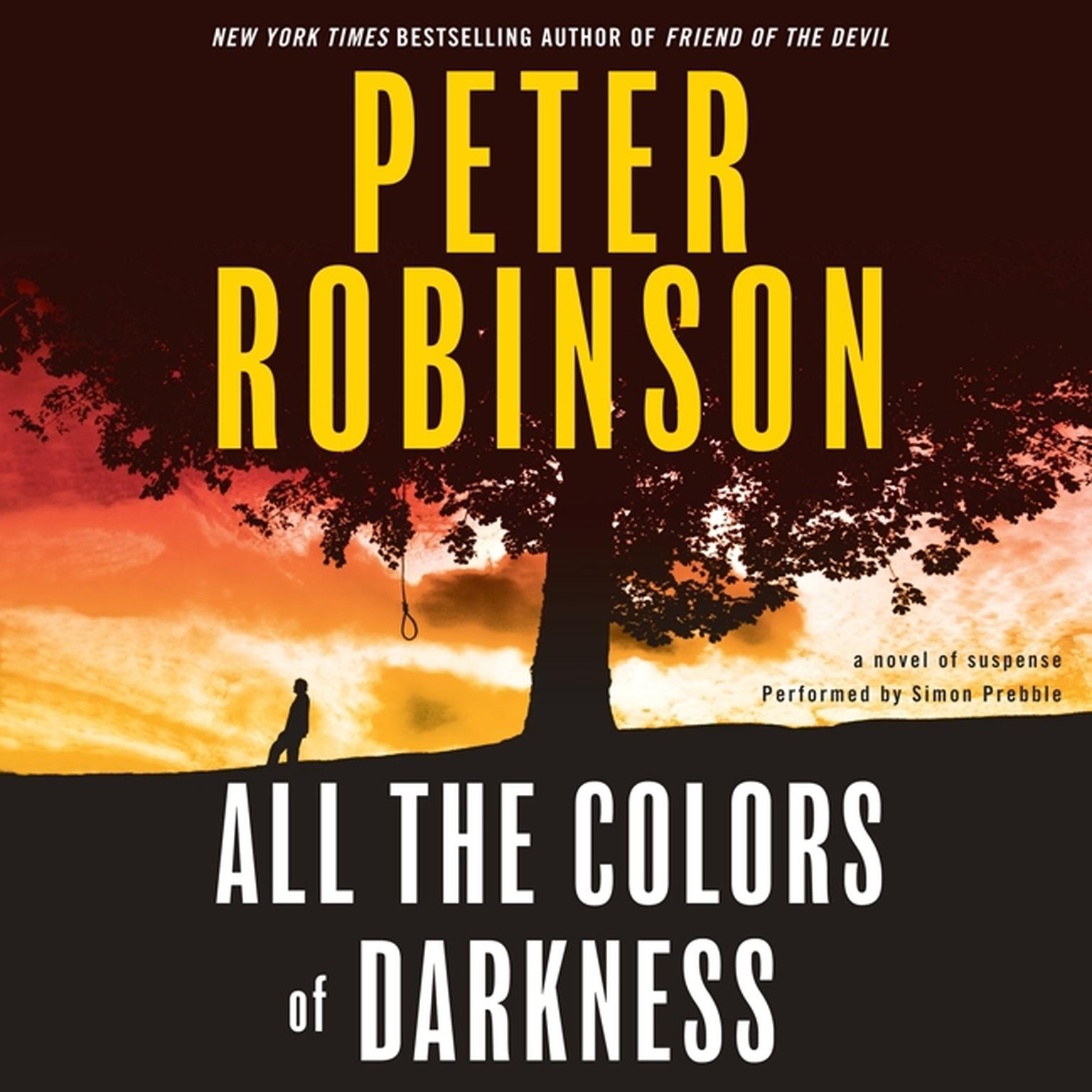 Printable All the Colors of Darkness Audiobook Cover Art
