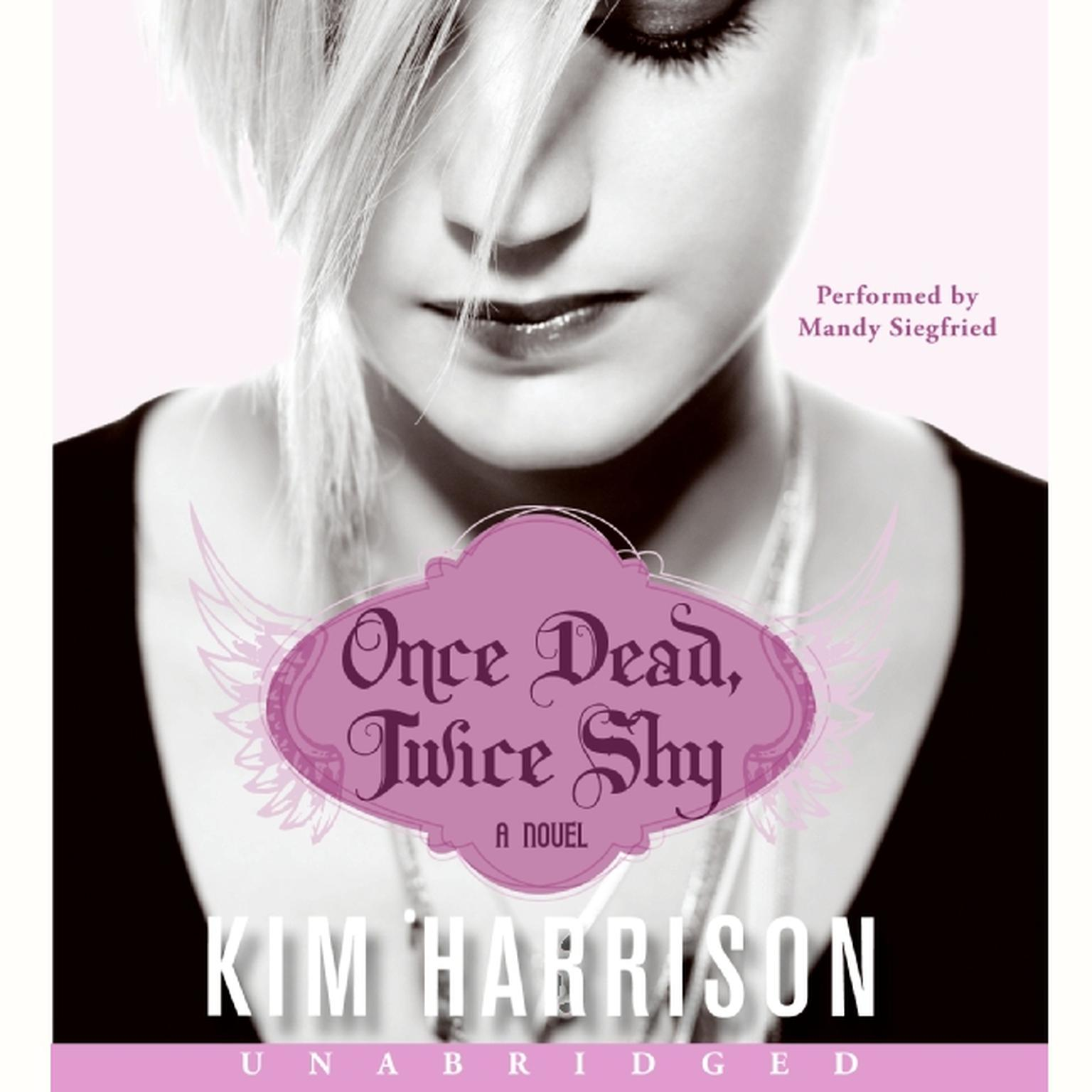 Printable Once Dead, Twice Shy Audiobook Cover Art