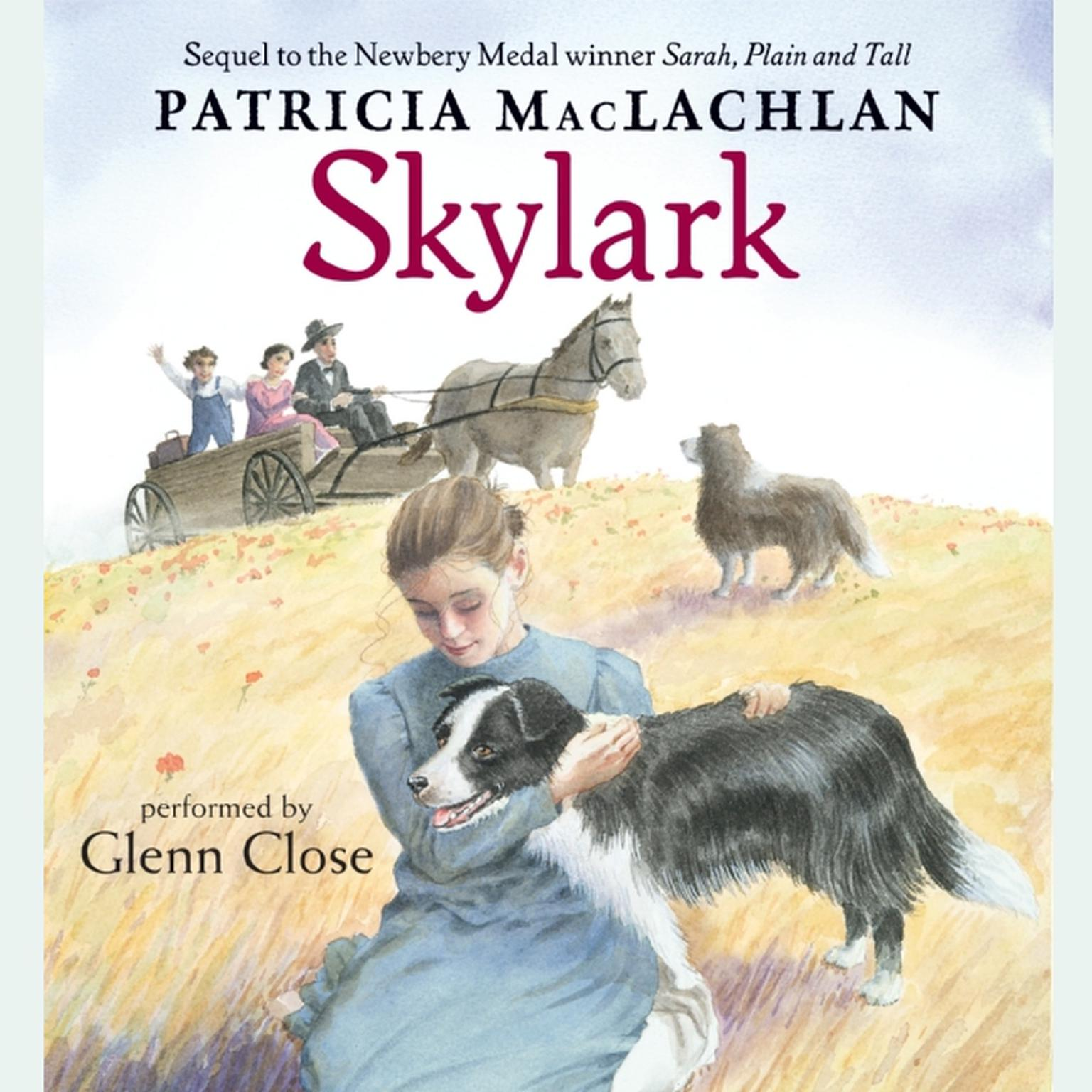 Printable Skylark Audiobook Cover Art