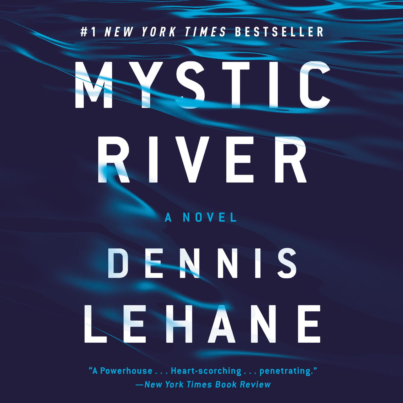 Printable Mystic River Audiobook Cover Art