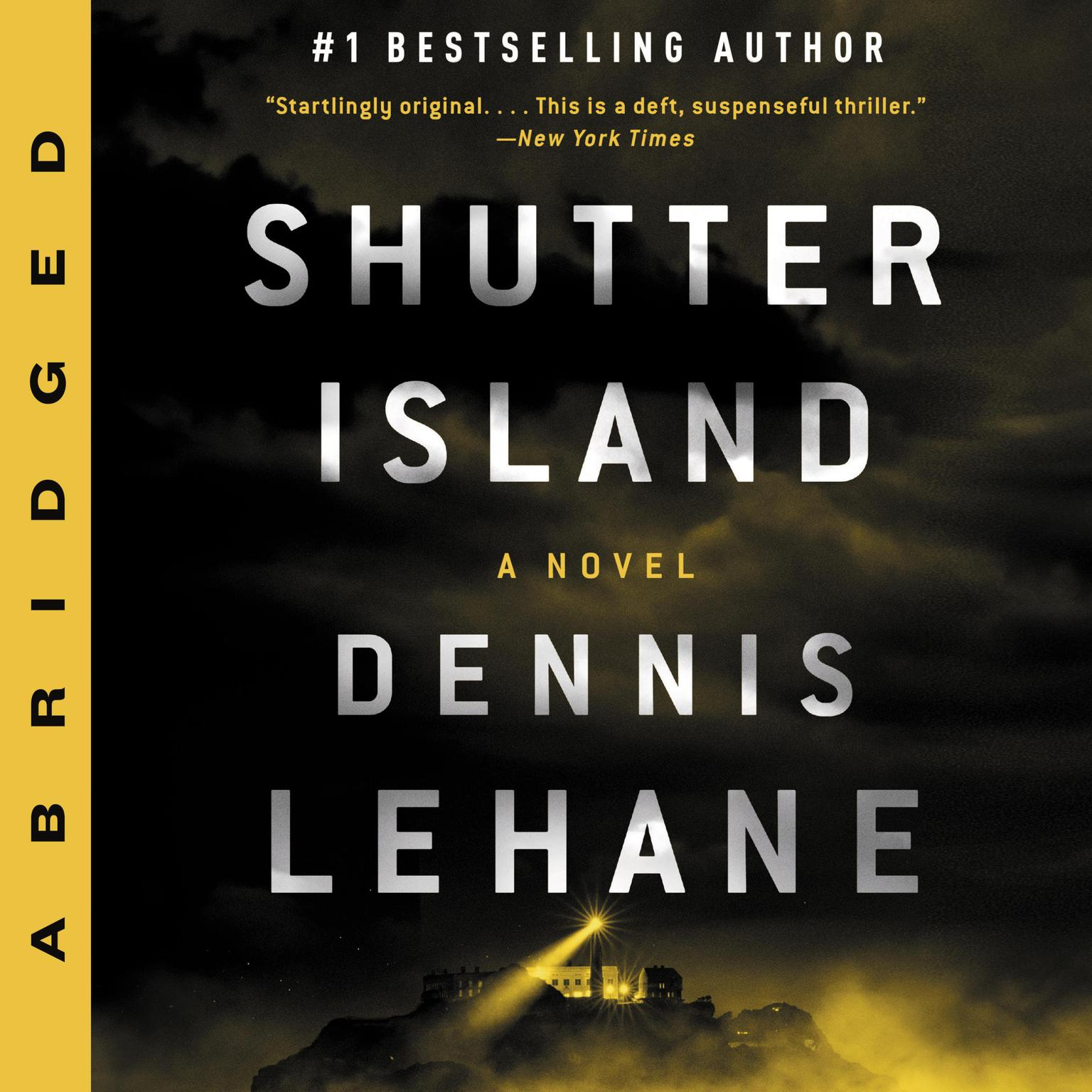Printable Shutter Island Audiobook Cover Art