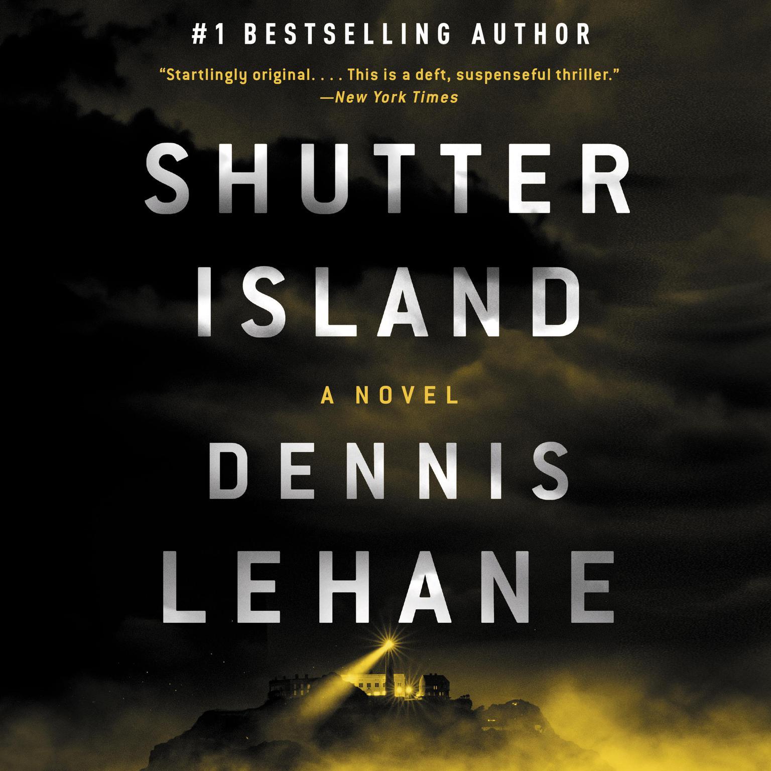 Printable Shutter Island Audiobook Cover Art
