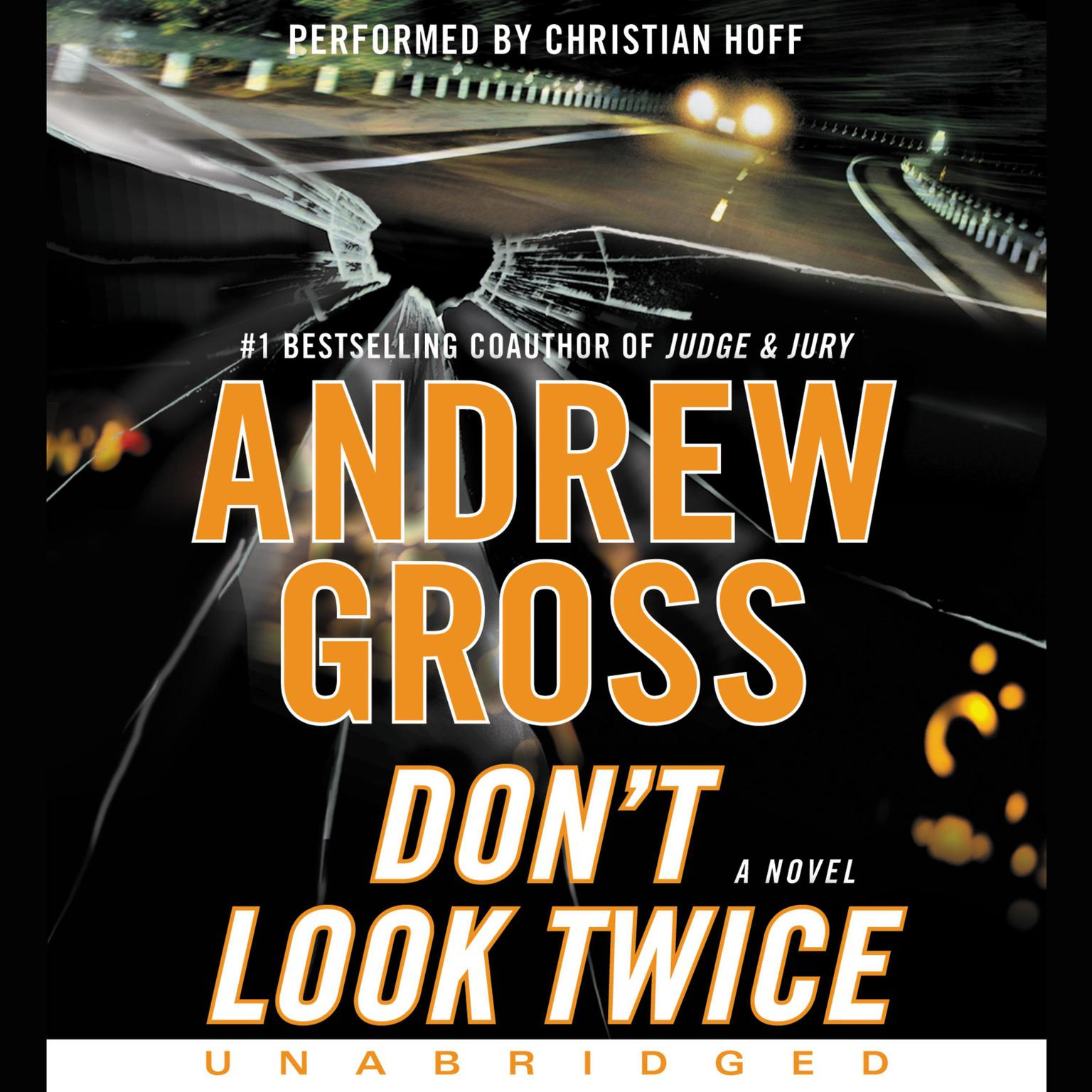 Printable Don't Look Twice: A Novel Audiobook Cover Art
