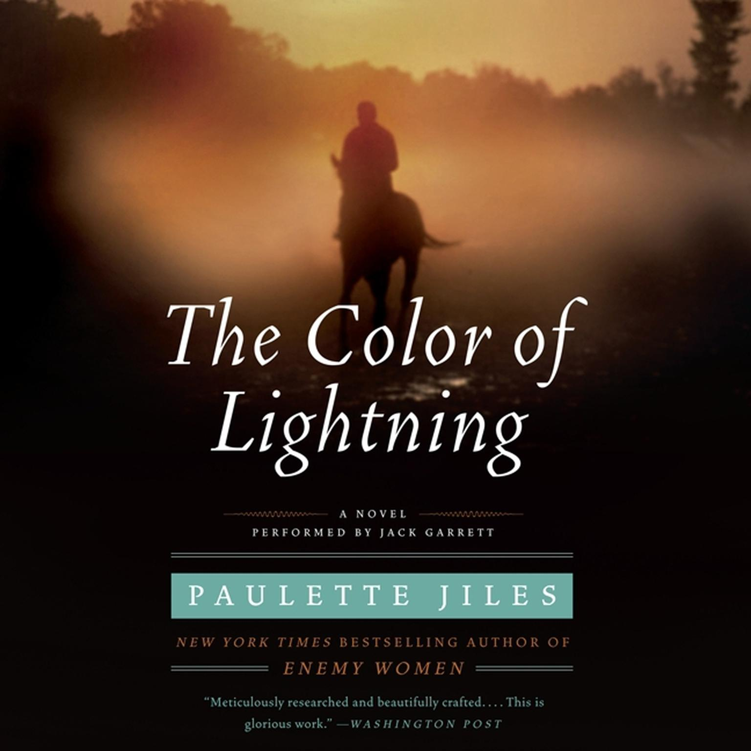 Printable The Color of Lightning Audiobook Cover Art