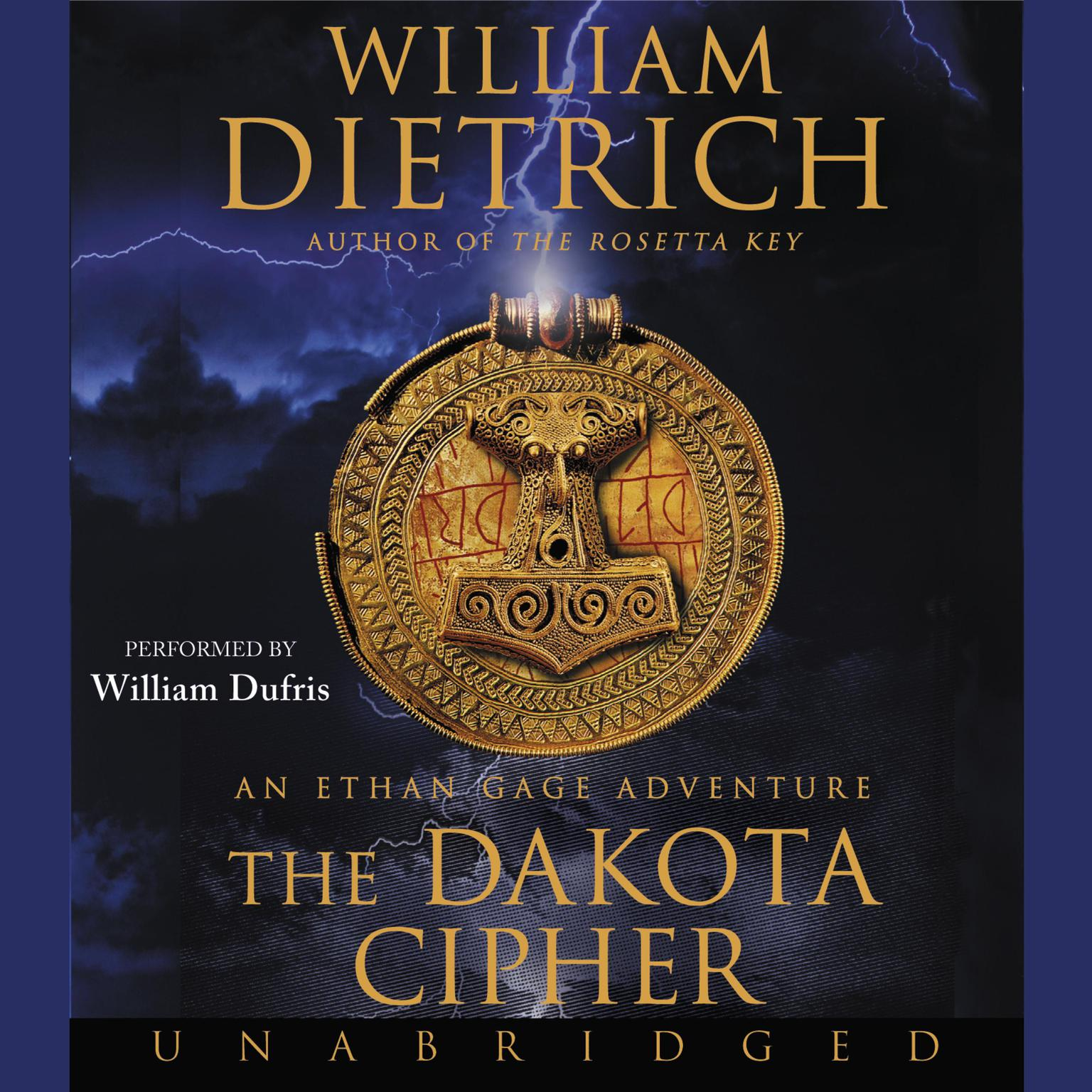 Printable The Dakota Cipher: An Ethan Gage Adventure Audiobook Cover Art