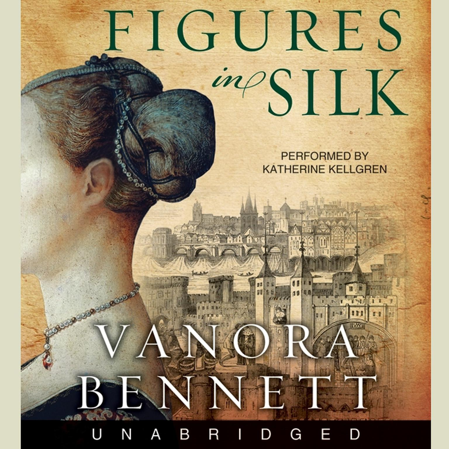 Printable Figures in Silk Audiobook Cover Art