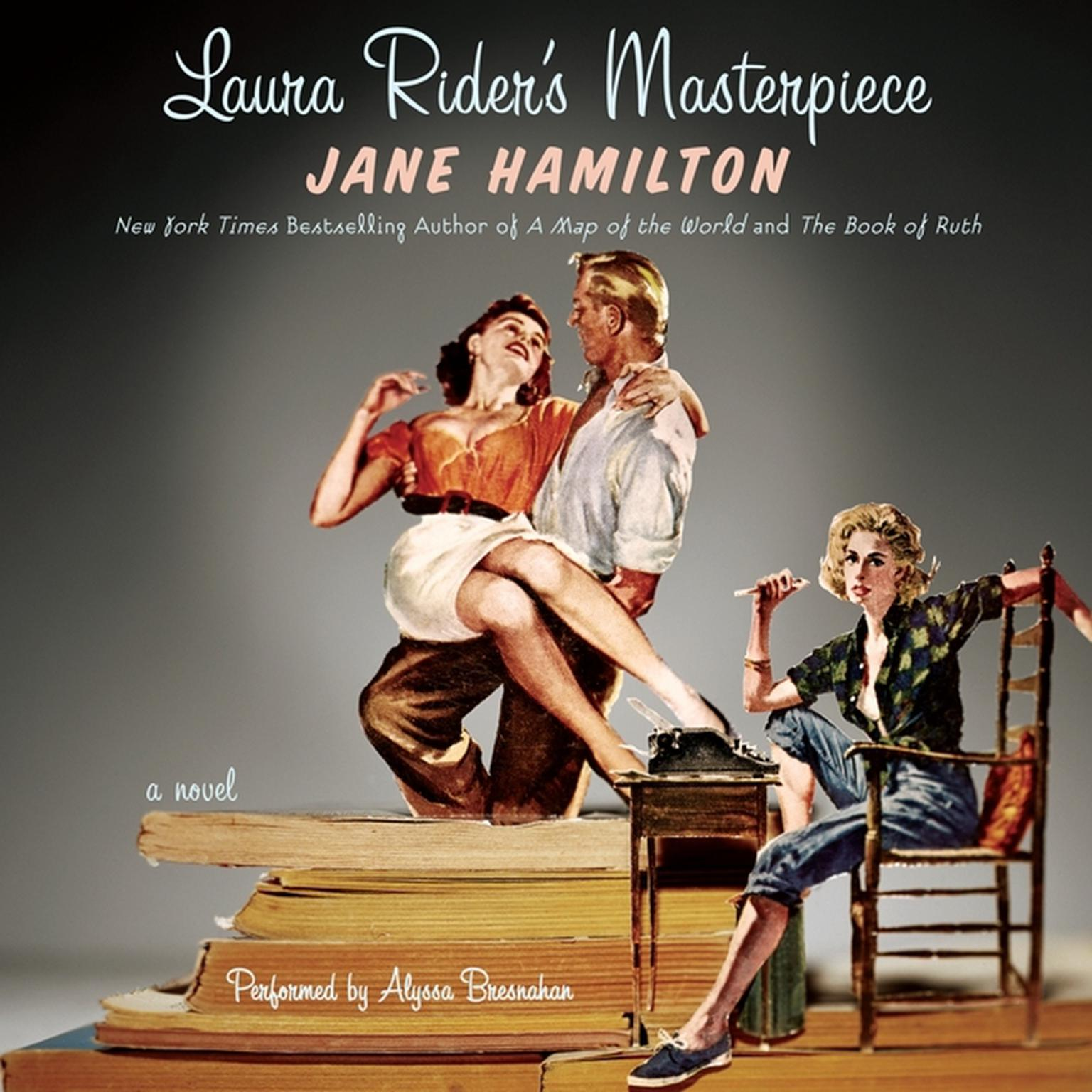 Printable Laura Rider's Masterpiece Audiobook Cover Art