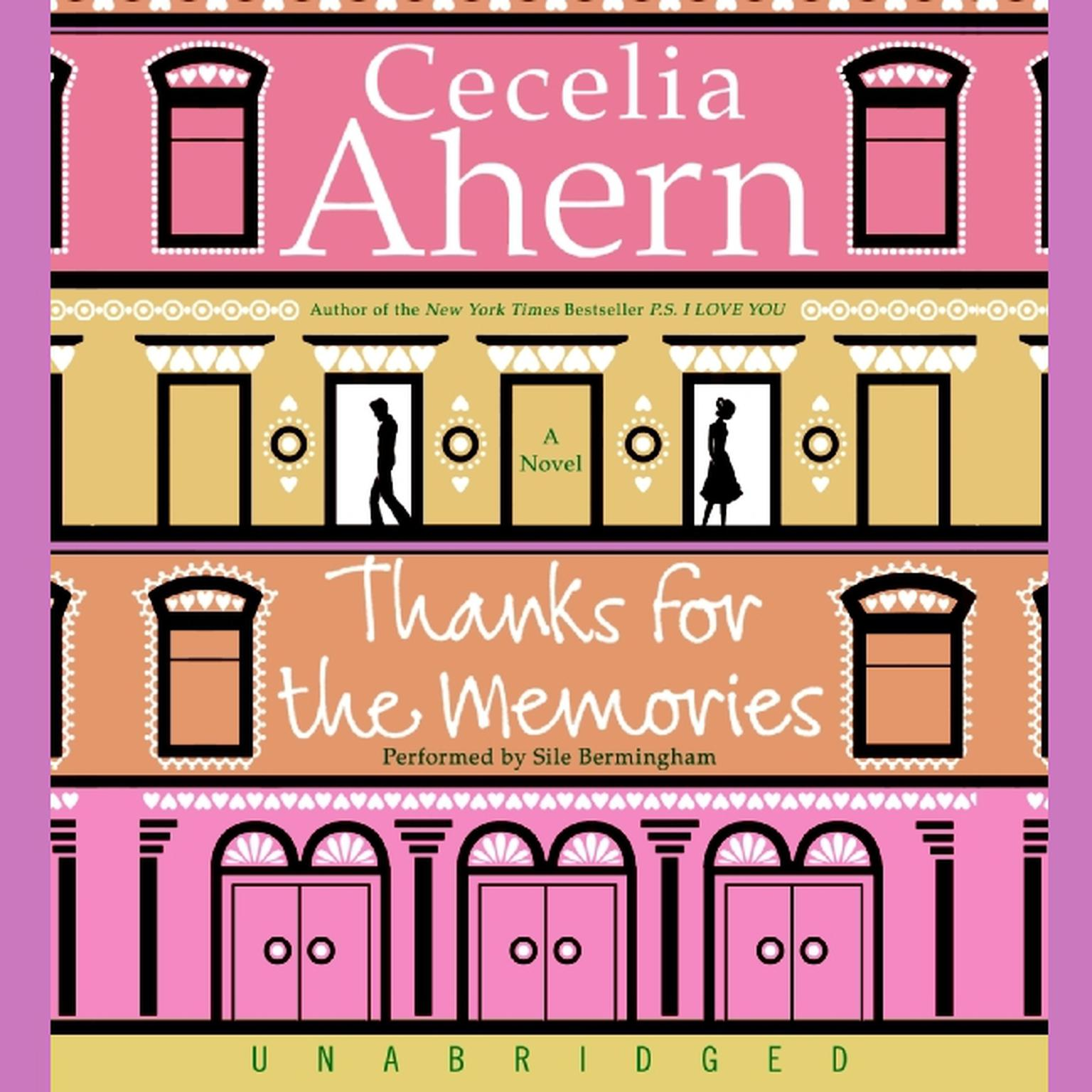 Printable Thanks for the Memories Audiobook Cover Art