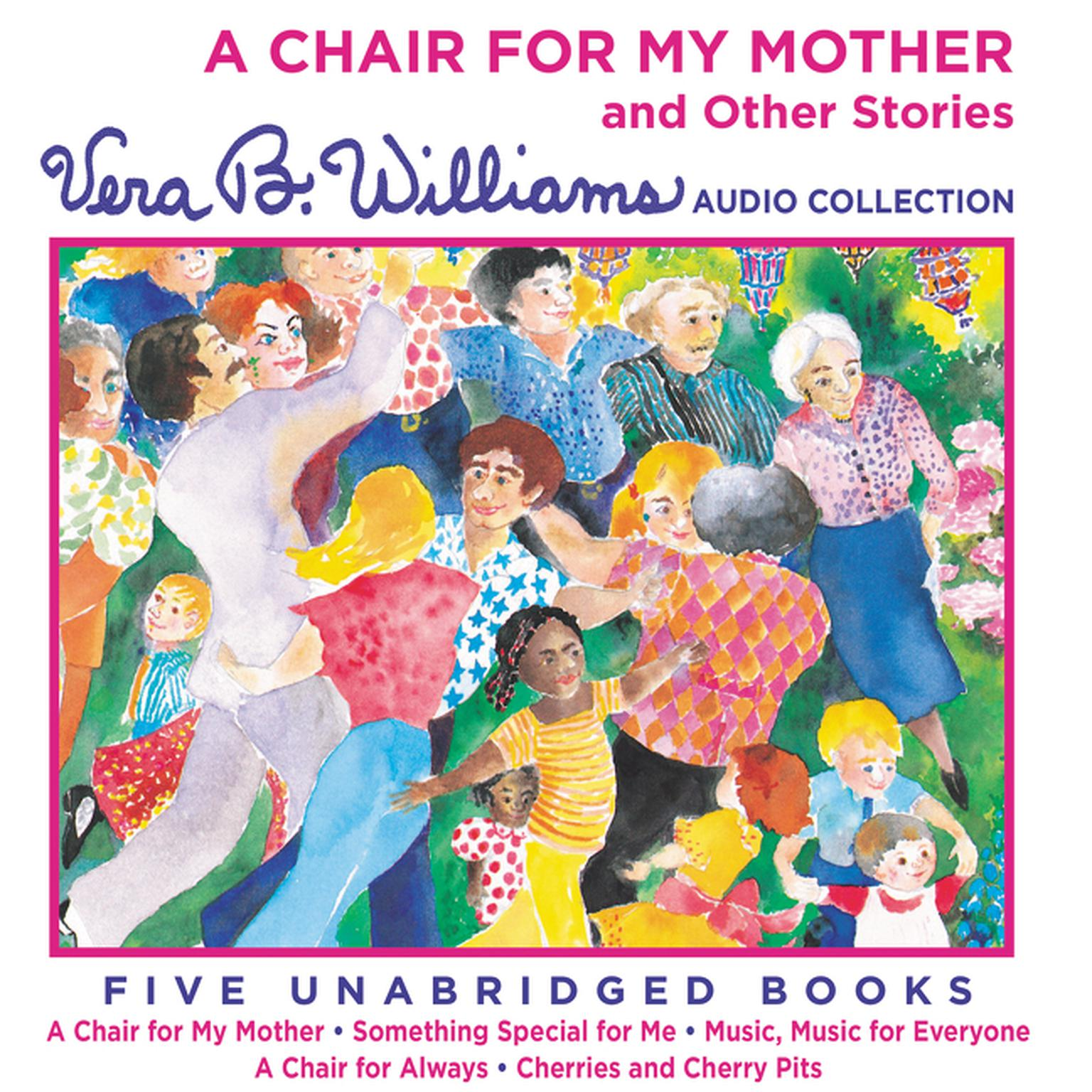 Printable A Chair for My Mother and Other Stories Audiobook Cover Art