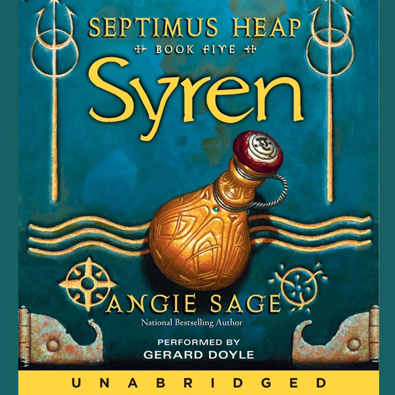 Printable Septimus Heap, Book Five: Syren Audiobook Cover Art