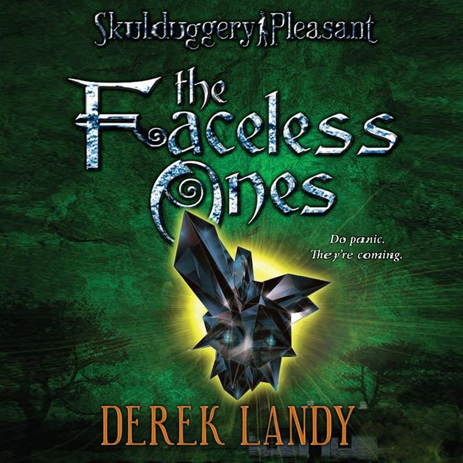 Printable Skulduggery Pleasant: The Faceless Ones Audiobook Cover Art