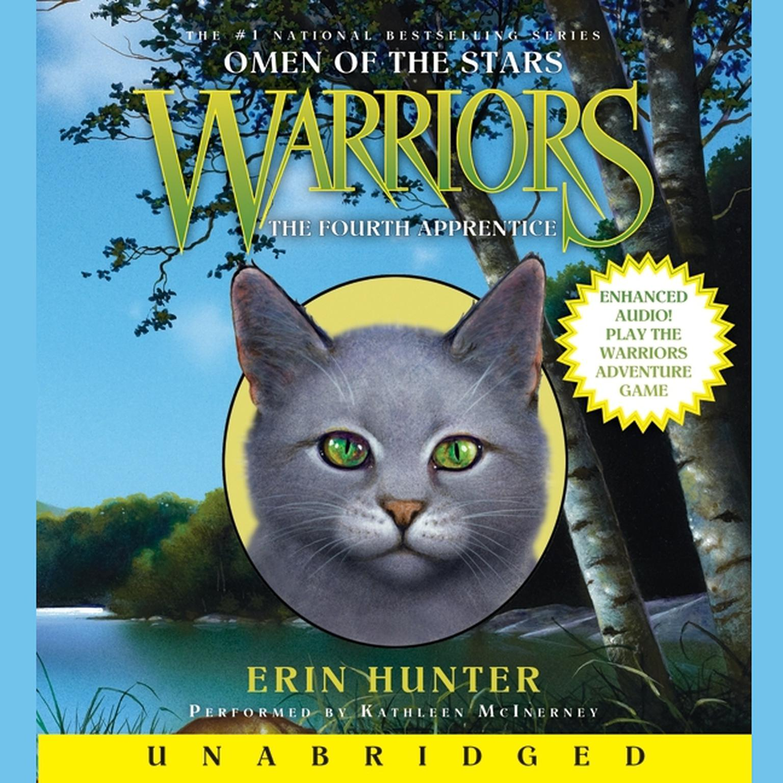 Printable Warriors: Omen of the Stars #1: The Fourth Apprentice Audiobook Cover Art