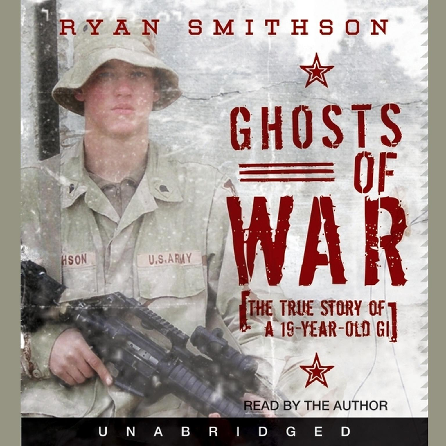 Printable Ghosts of War: The True Story of a 19-Year-Old GI Audiobook Cover Art