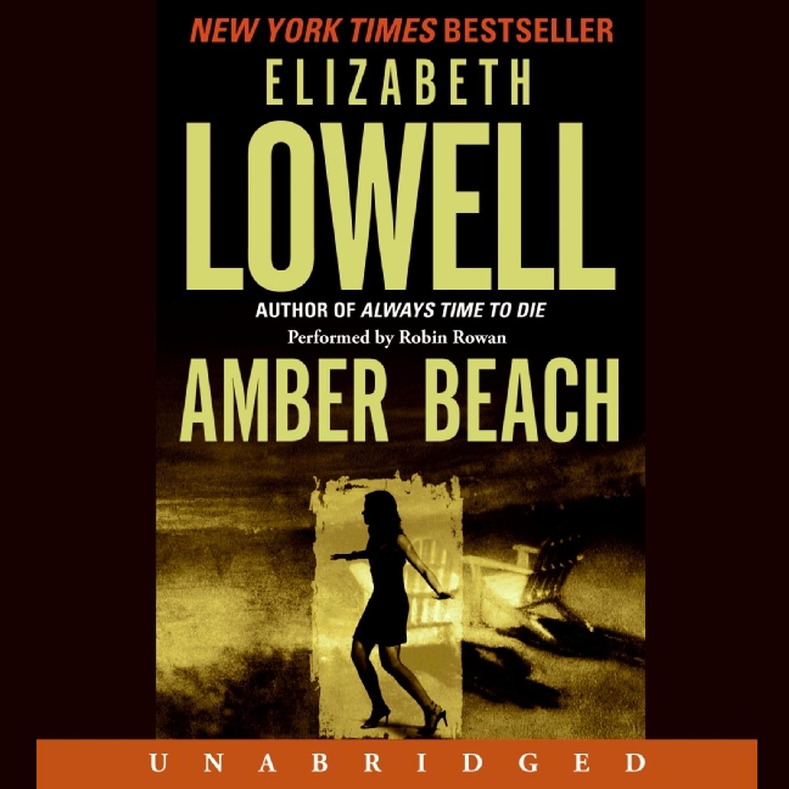 Printable Amber Beach Audiobook Cover Art