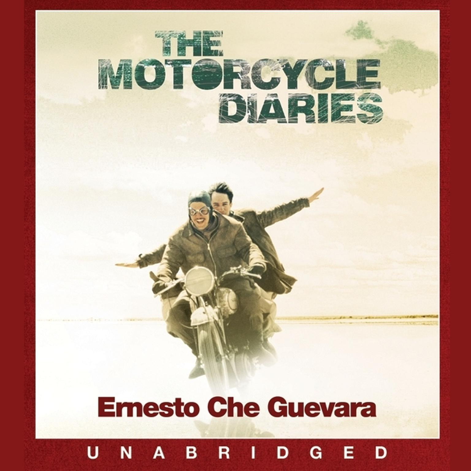 Printable The Motorcycle Diaries: Notes on a Latin American Journey Audiobook Cover Art
