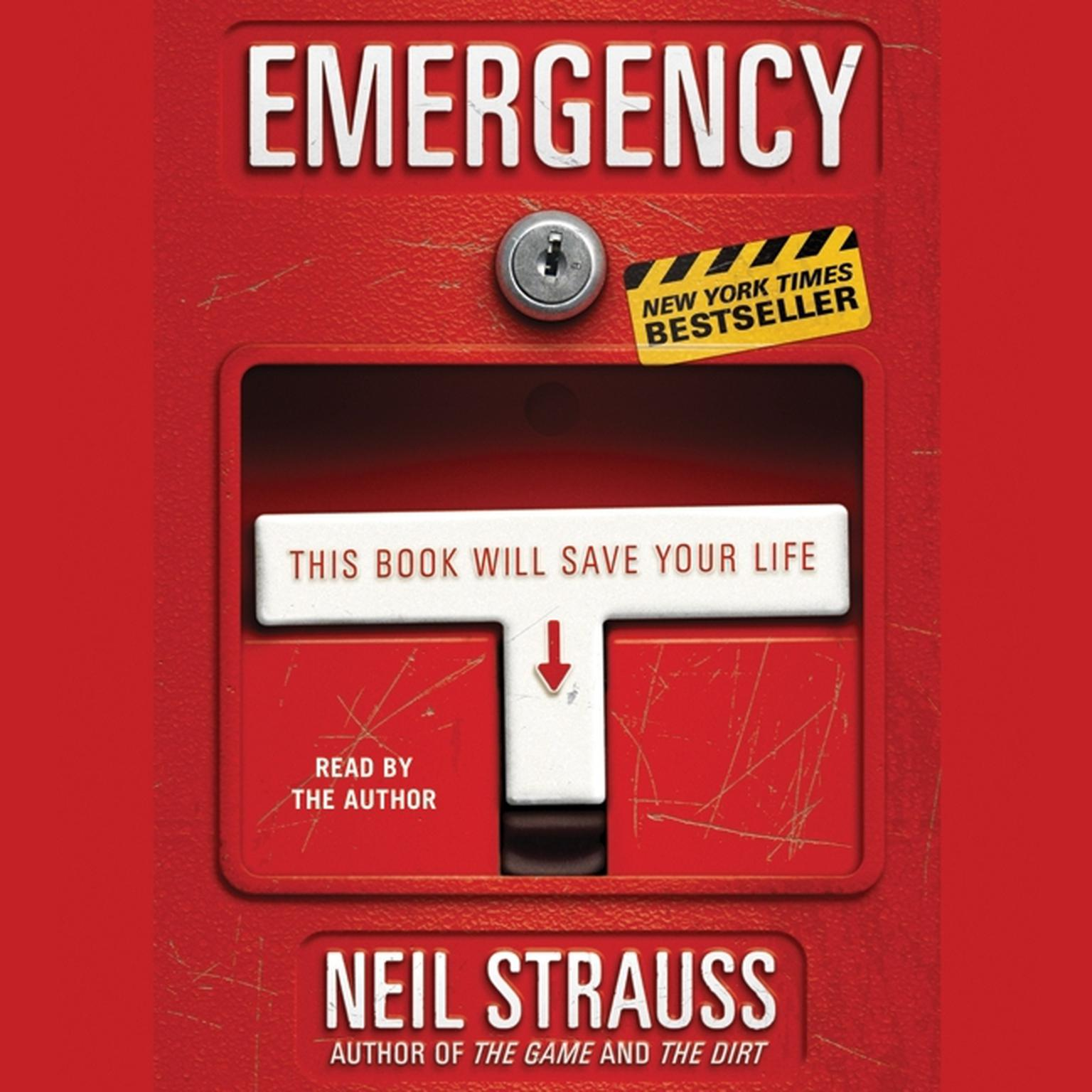 Printable Emergency: This Book Will Save Your Life Audiobook Cover Art