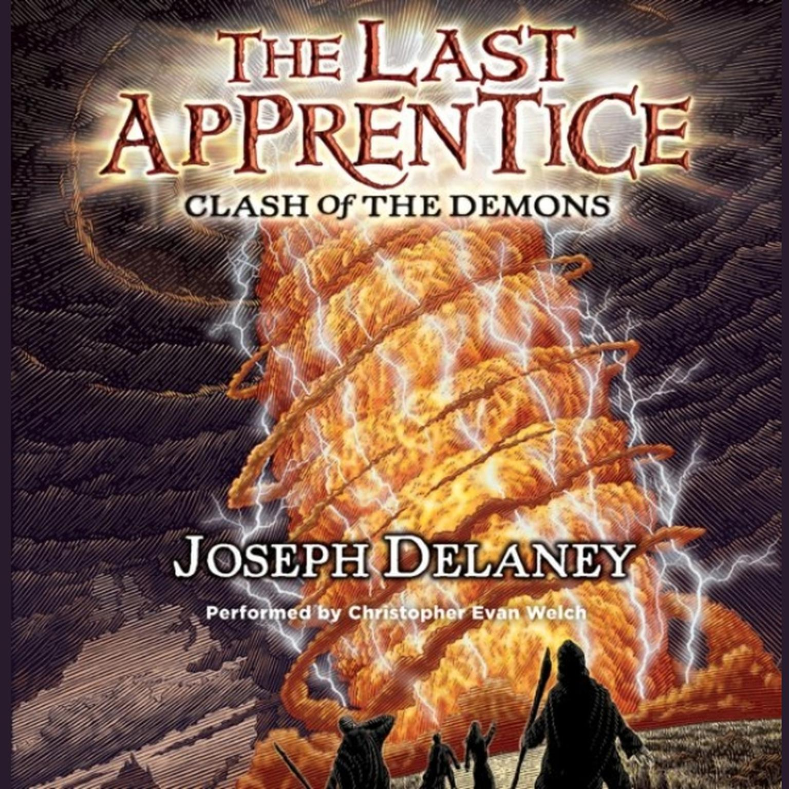 Printable The Last Apprentice: Clash of the Demons (Book 6) Audiobook Cover Art