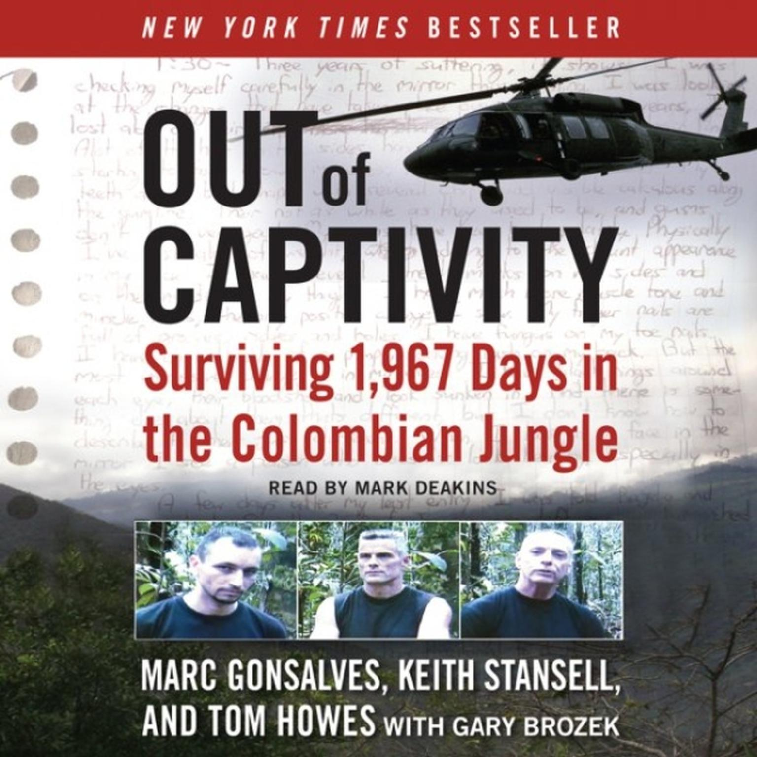 Printable Out of Captivity: Surviving 1,967 Days in the Colombian Jungle Audiobook Cover Art
