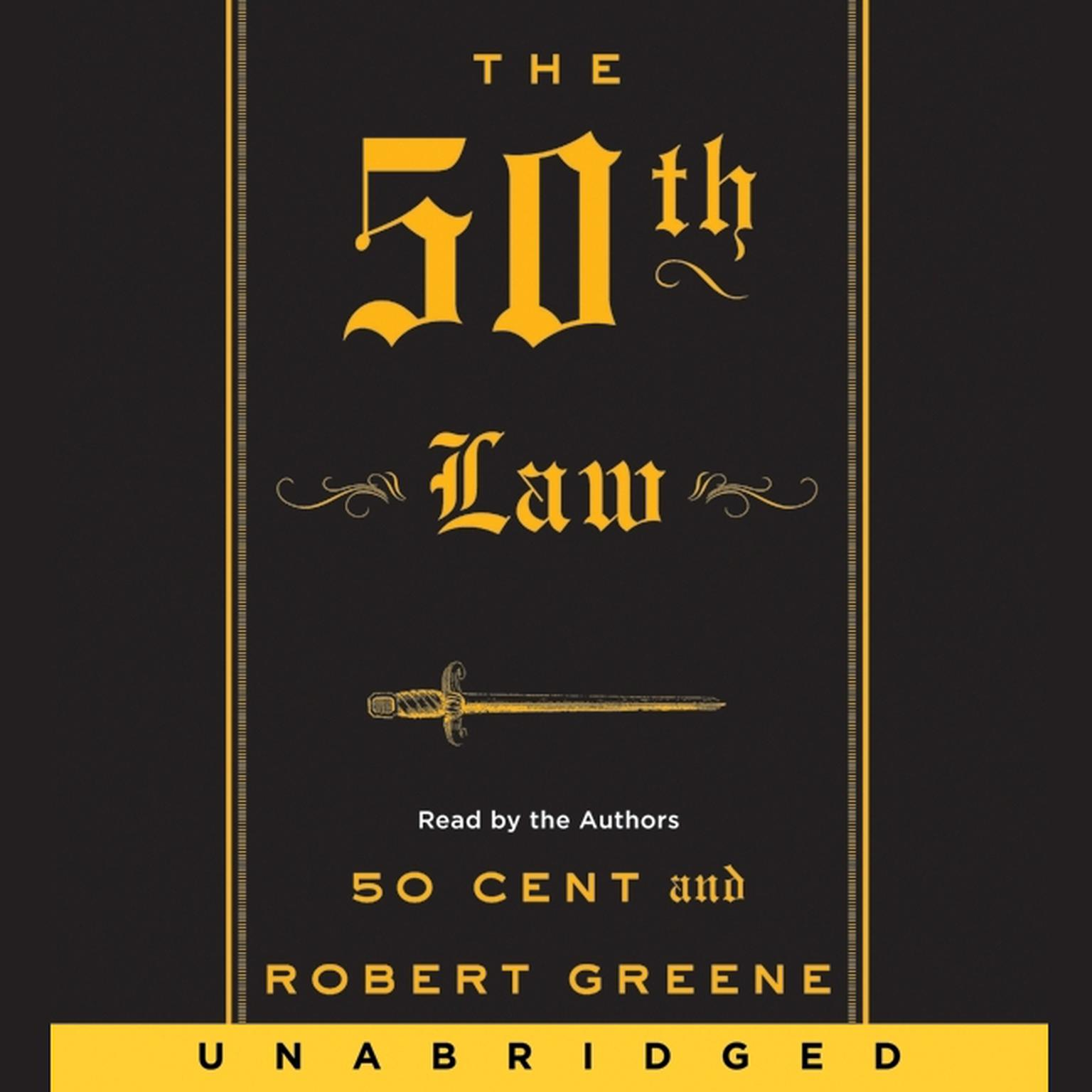 Printable The 50th Law Audiobook Cover Art