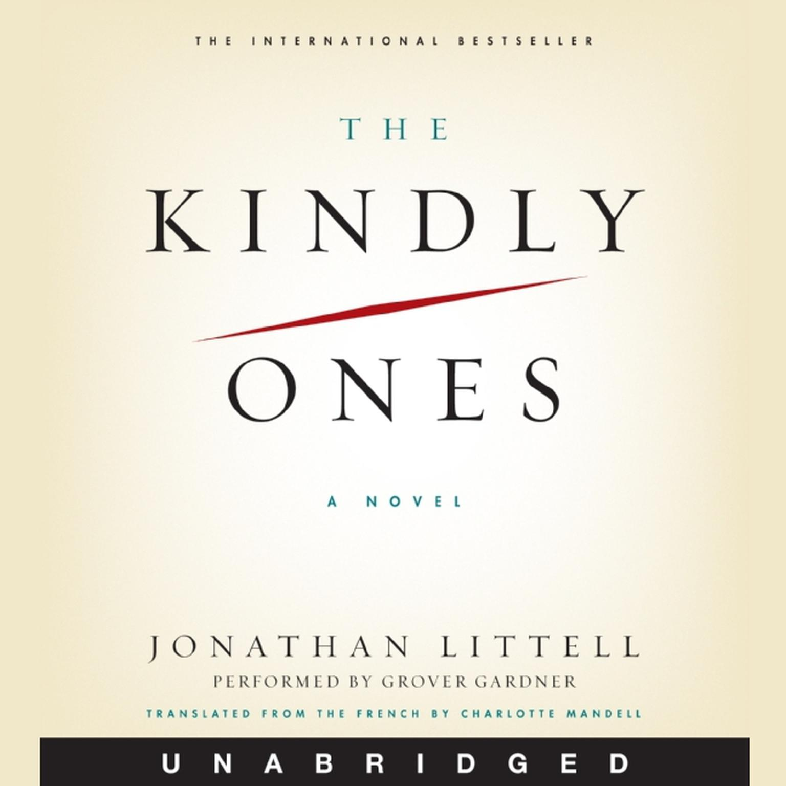 Printable The Kindly Ones: A Novel Audiobook Cover Art
