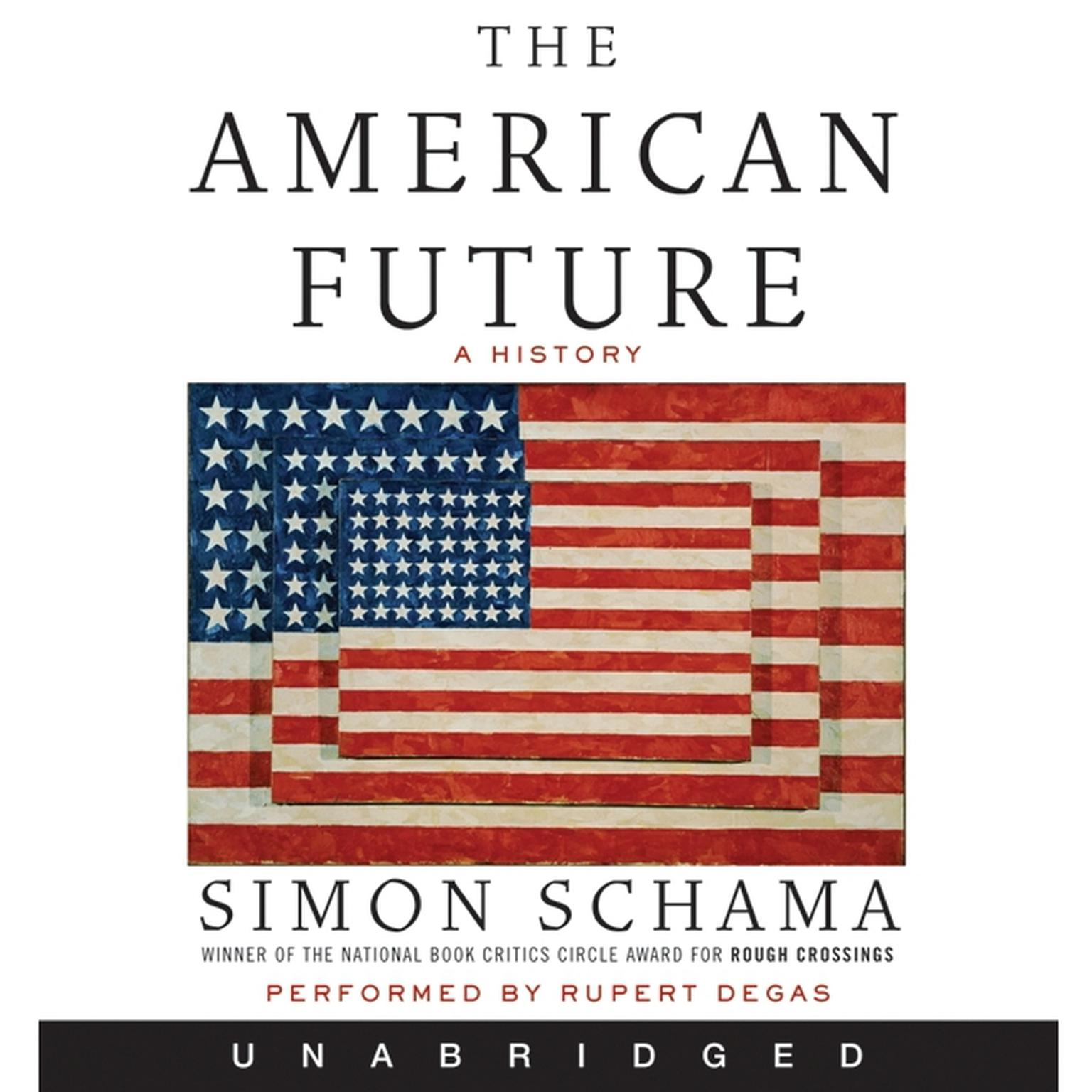 Printable The American Future Audiobook Cover Art