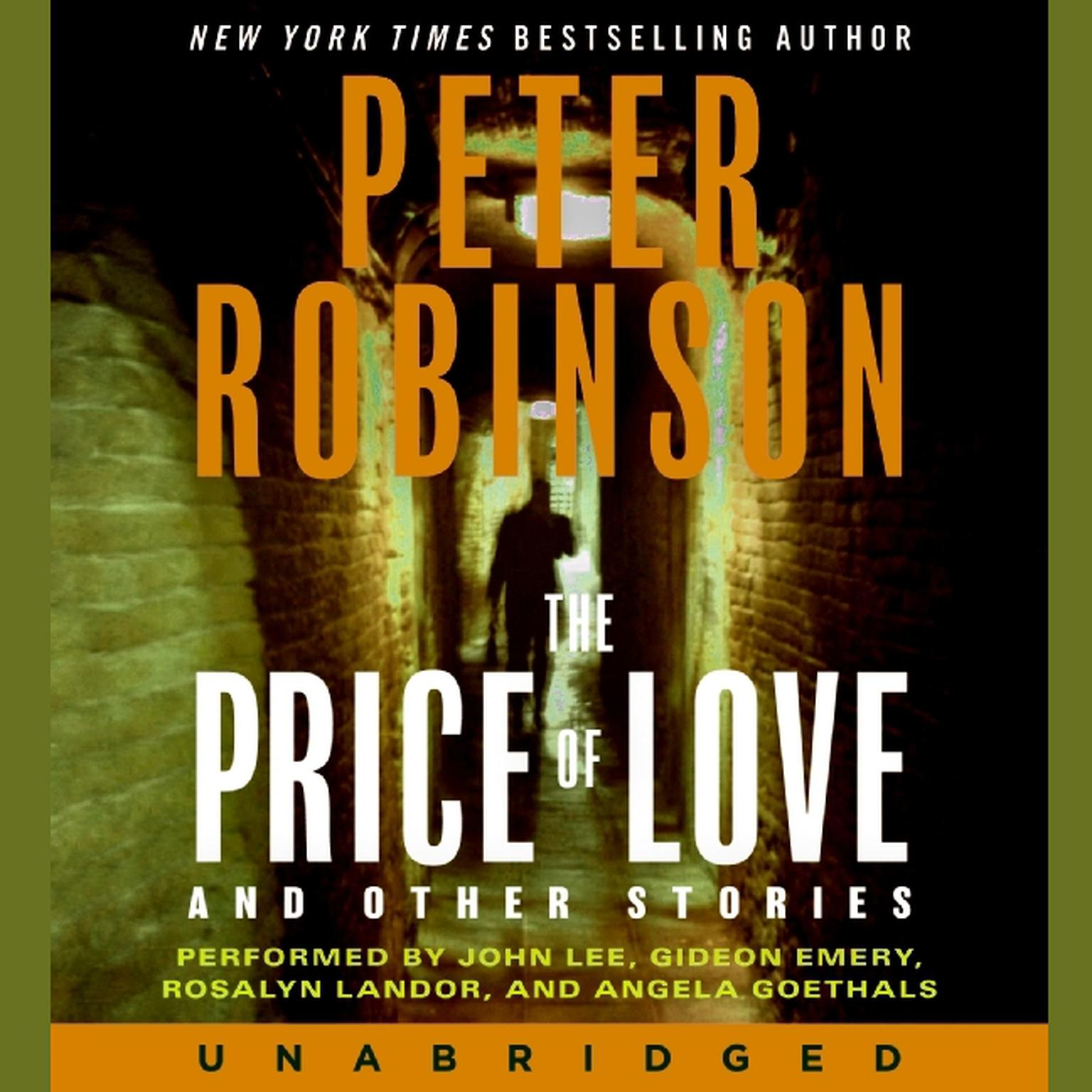 Printable The Price of Love and Other Stories Audiobook Cover Art