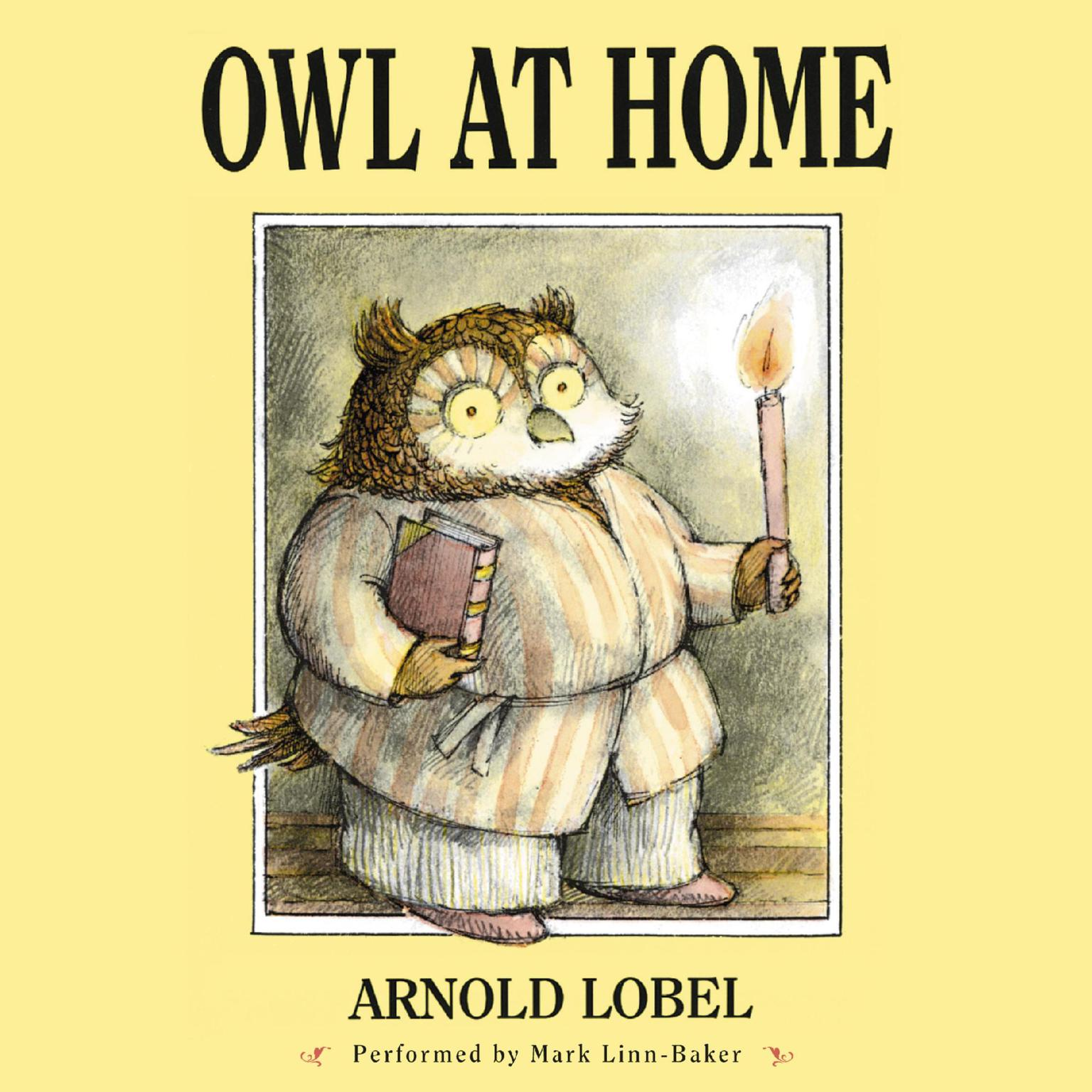 Printable Owl at Home Audiobook Cover Art