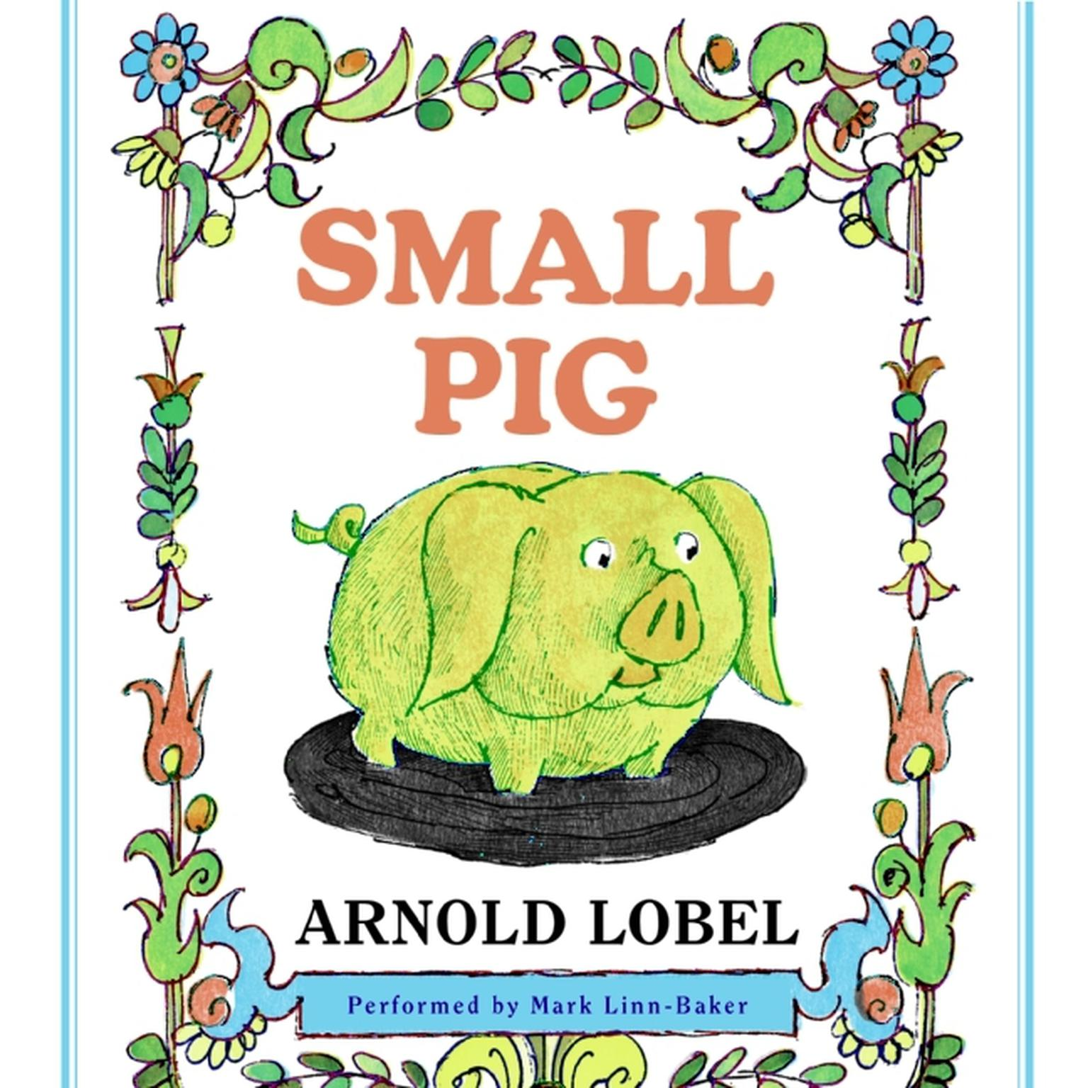 Printable Small Pig Audiobook Cover Art