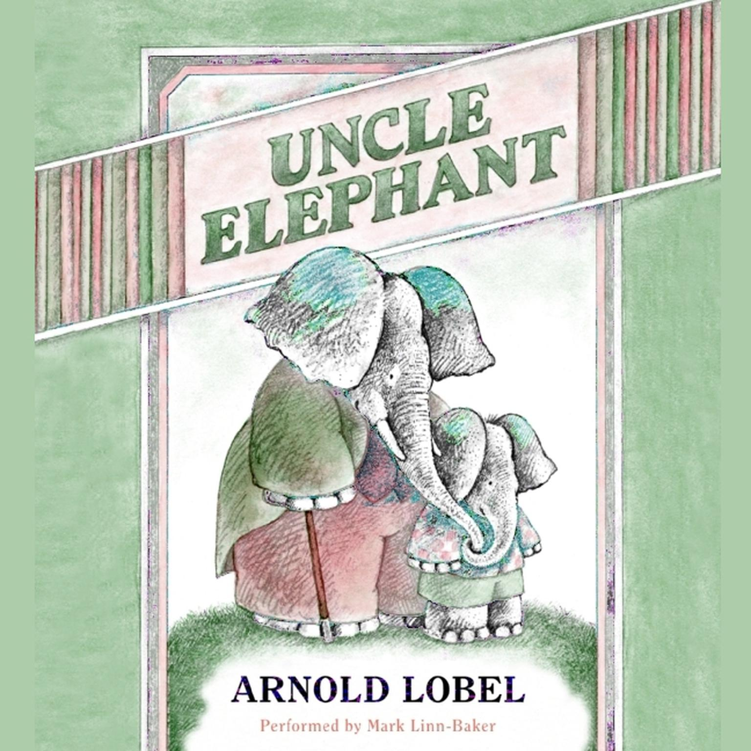 Printable Uncle Elephant Audiobook Cover Art
