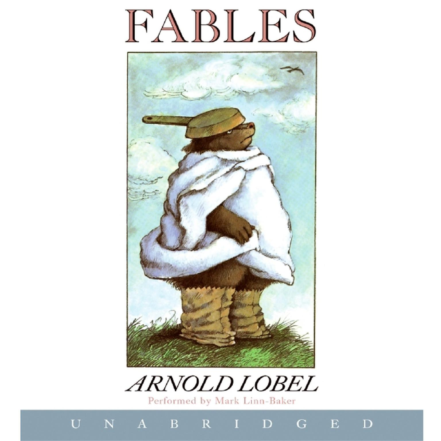 Printable Fables Audiobook Cover Art