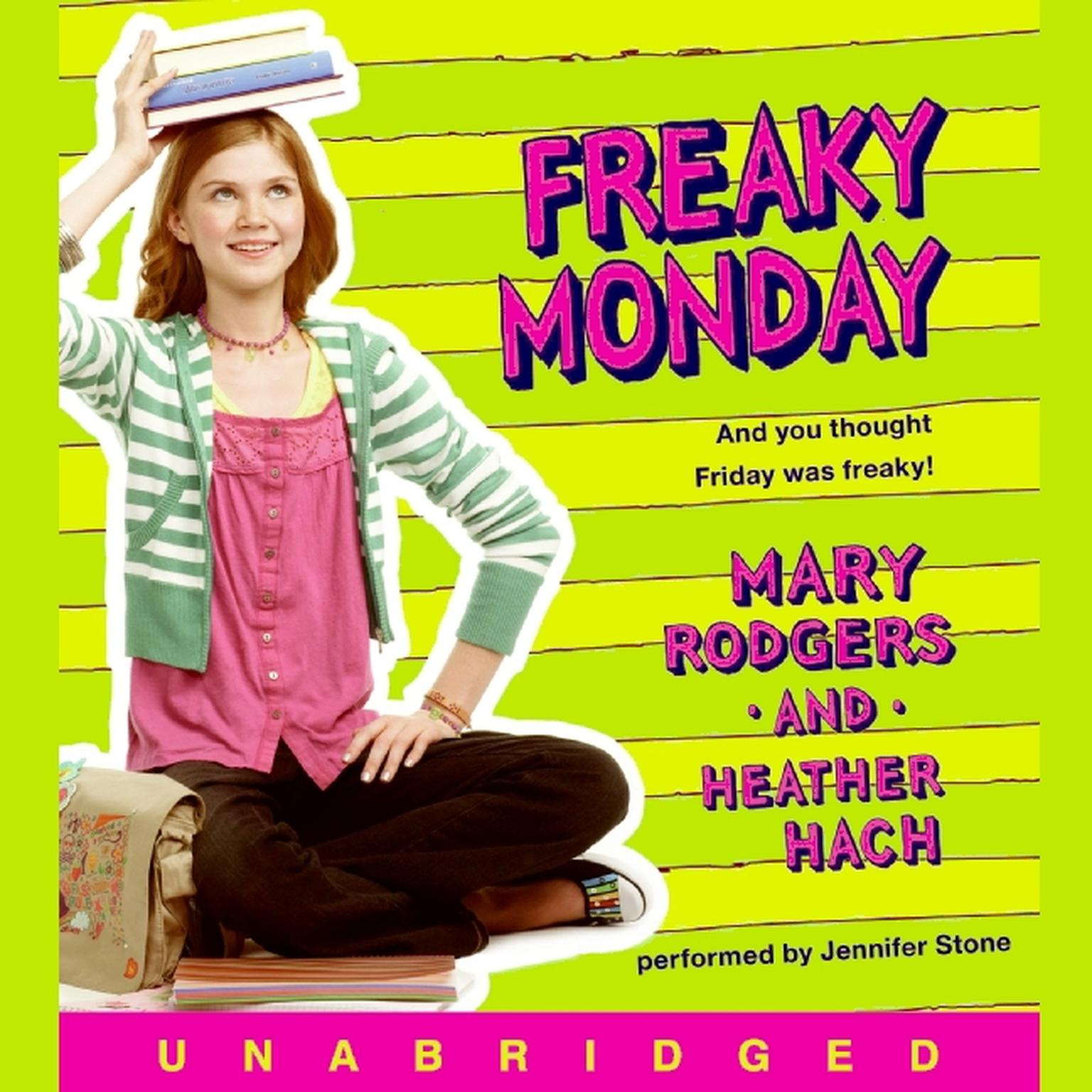 Printable Freaky Monday Audiobook Cover Art
