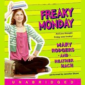 Freaky Monday Audiobook, by Mary Rodgers, Heather Hach
