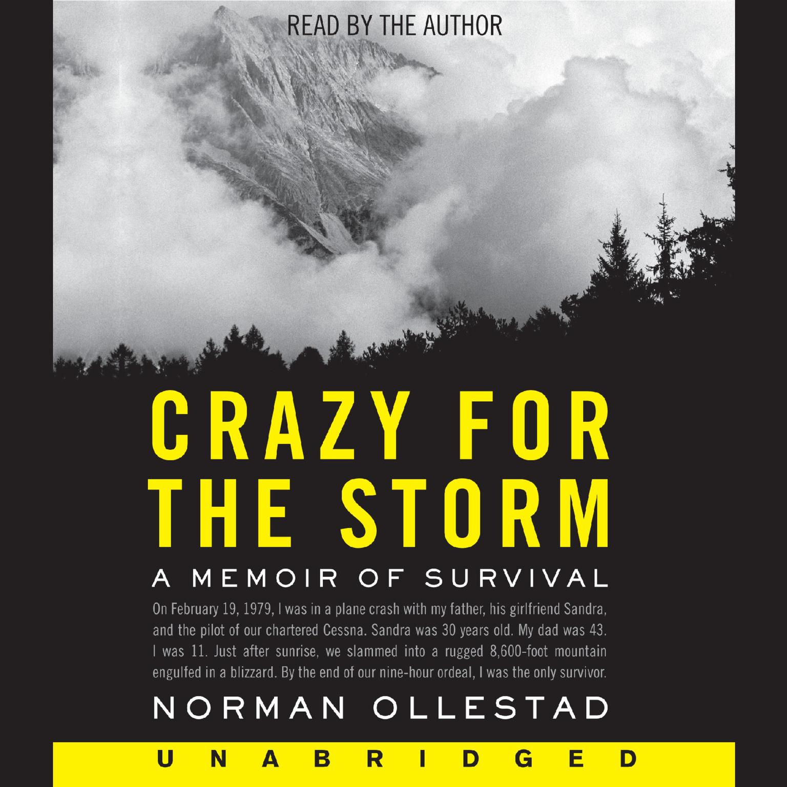 Printable Crazy for the Storm Audiobook Cover Art