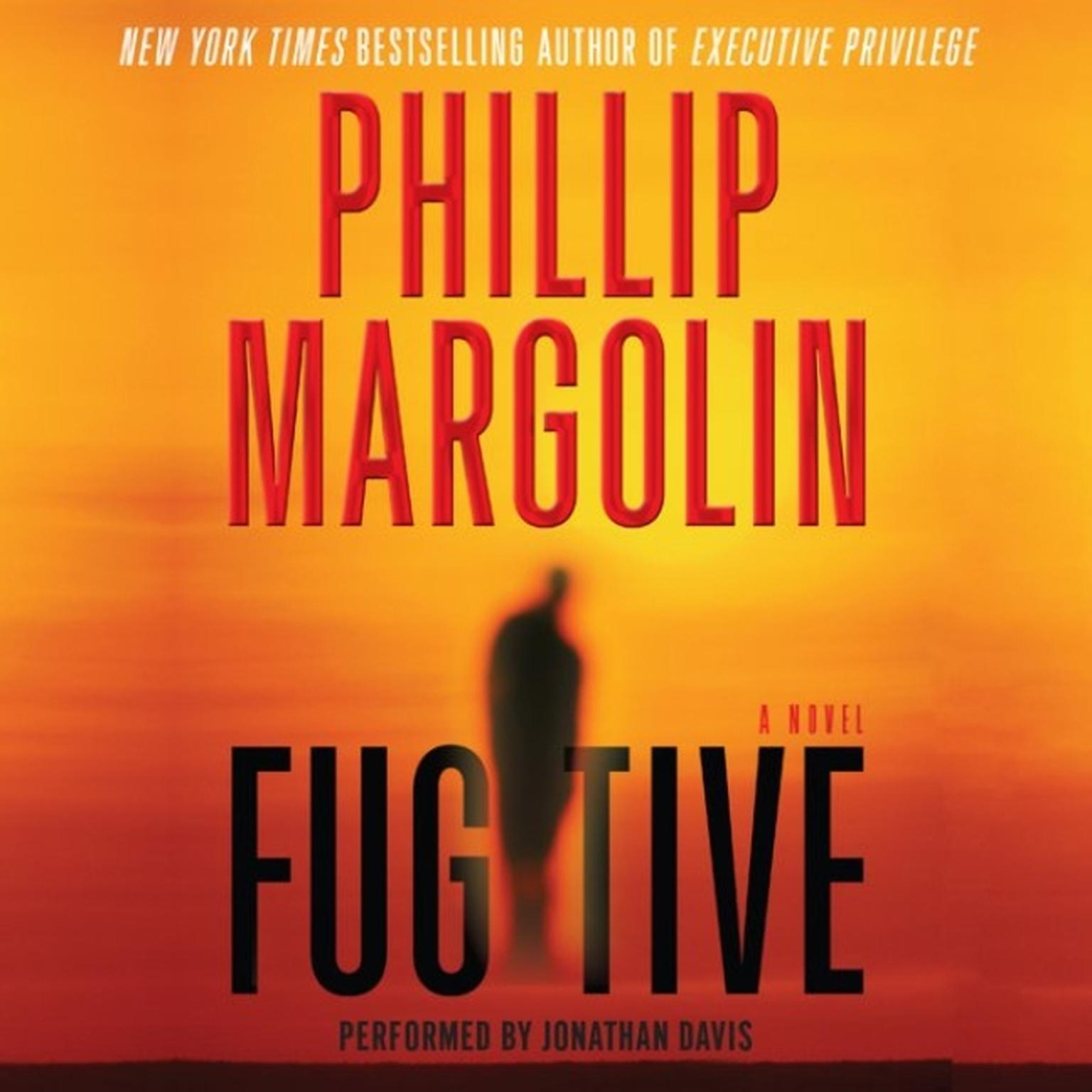 Printable Fugitive Audiobook Cover Art