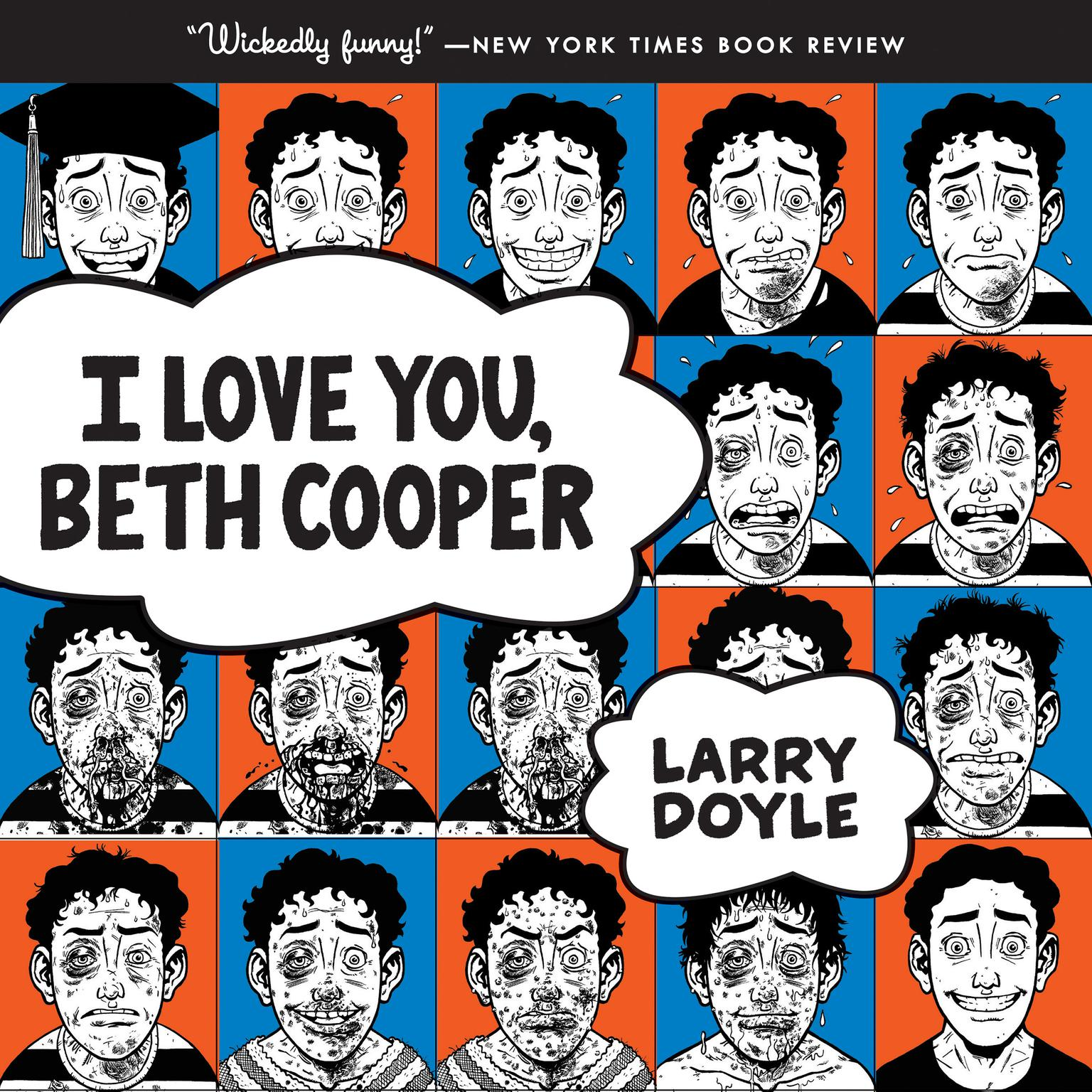 Printable I Love You, Beth Cooper Audiobook Cover Art
