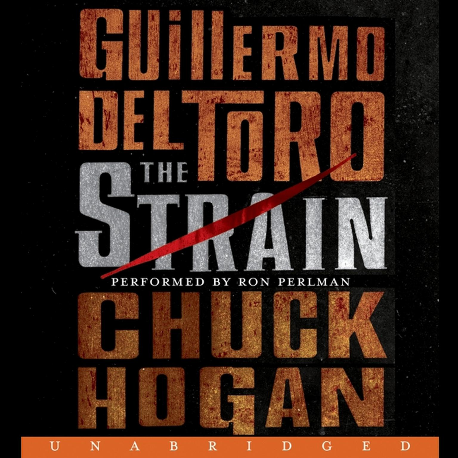 Printable The Strain: Book One of The Strain Trilogy Audiobook Cover Art