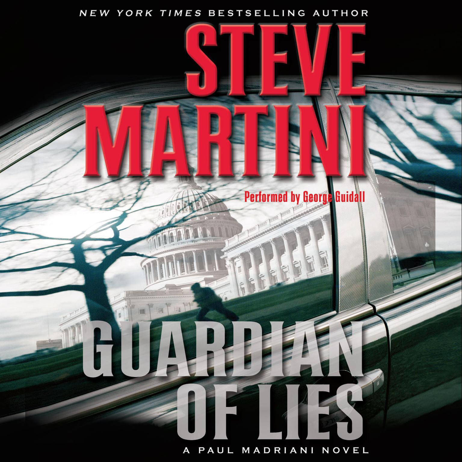 Printable Guardian of Lies: A Paul Madriani Novel Audiobook Cover Art