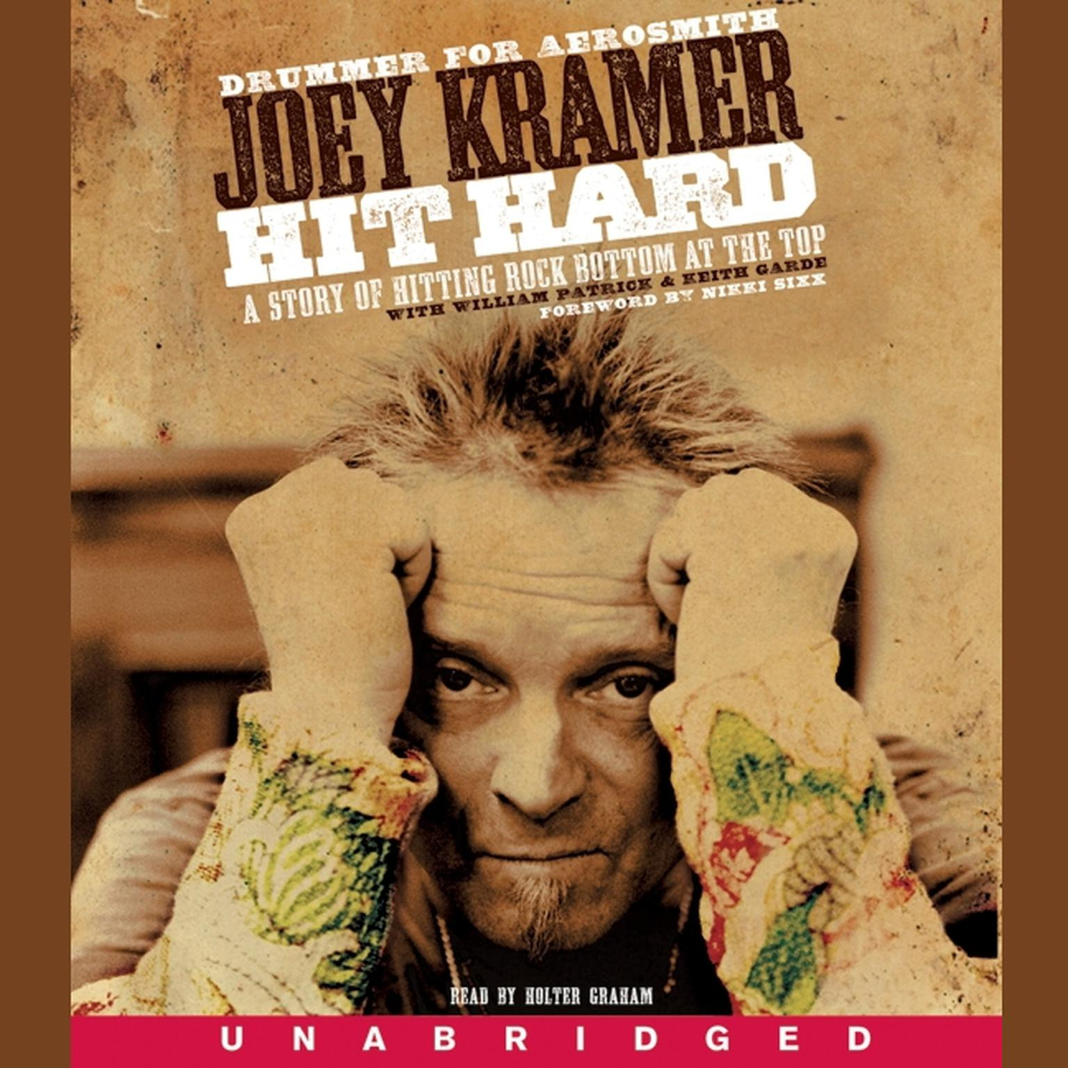 Printable Hit Hard: A Story of Hitting Rock Bottom at the Top Audiobook Cover Art