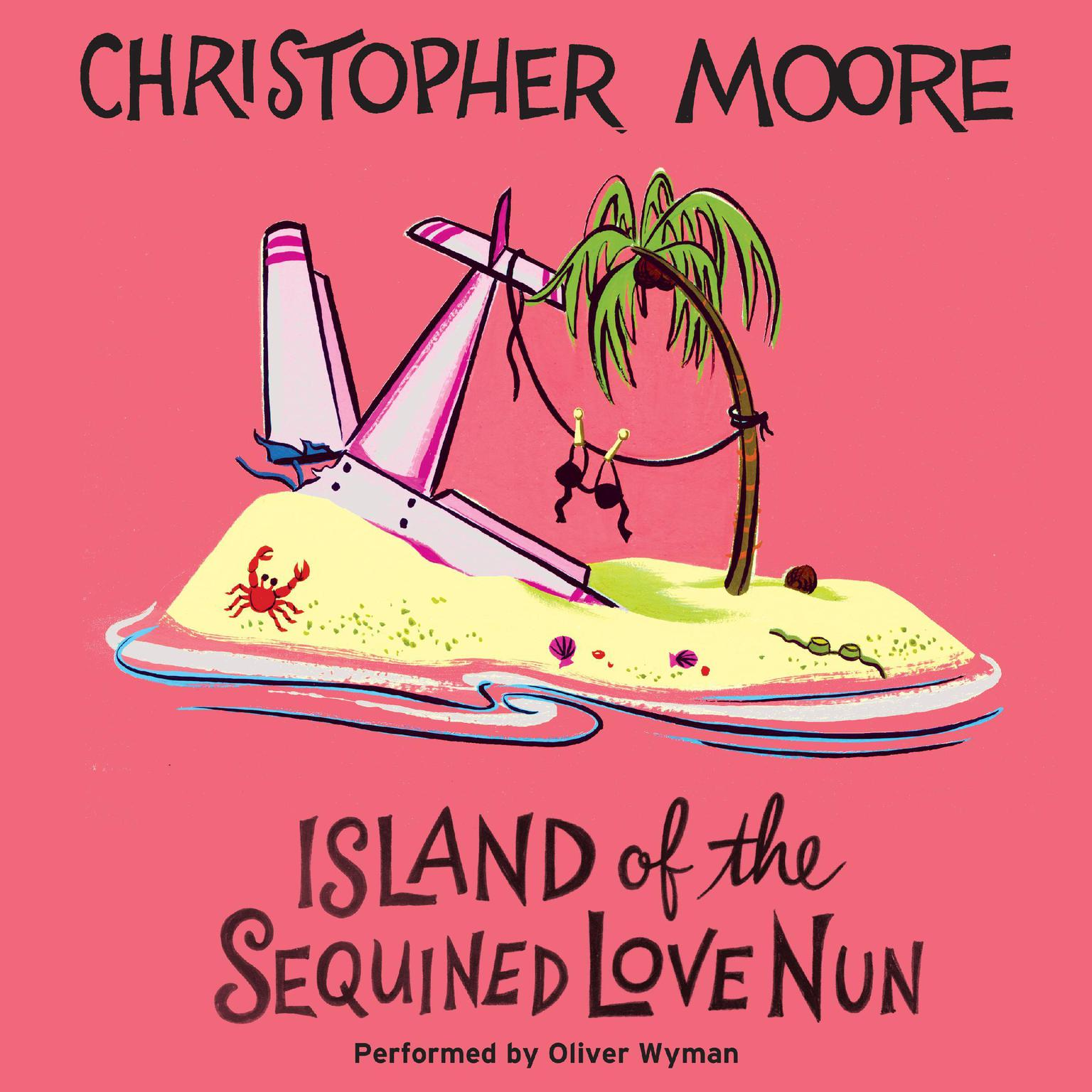 Printable Island of the Sequined Love Nun Audiobook Cover Art
