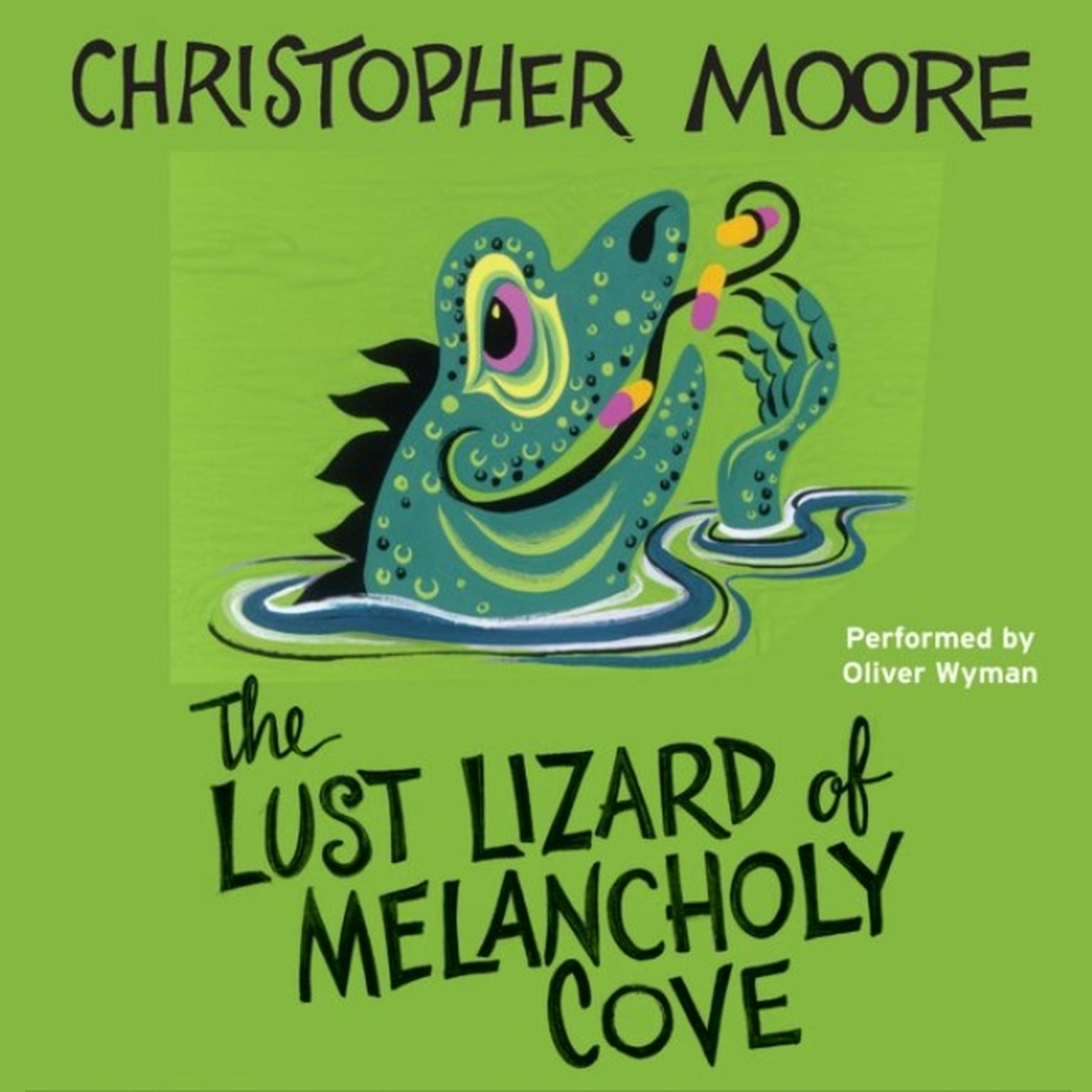 Printable The Lust Lizard of Melancholy Cove Audiobook Cover Art
