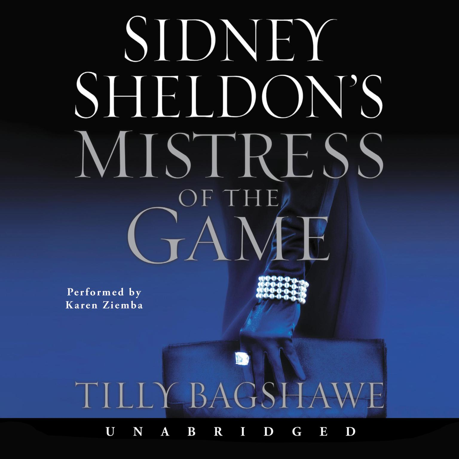 Printable Sidney Sheldon's Mistress of the Game Audiobook Cover Art